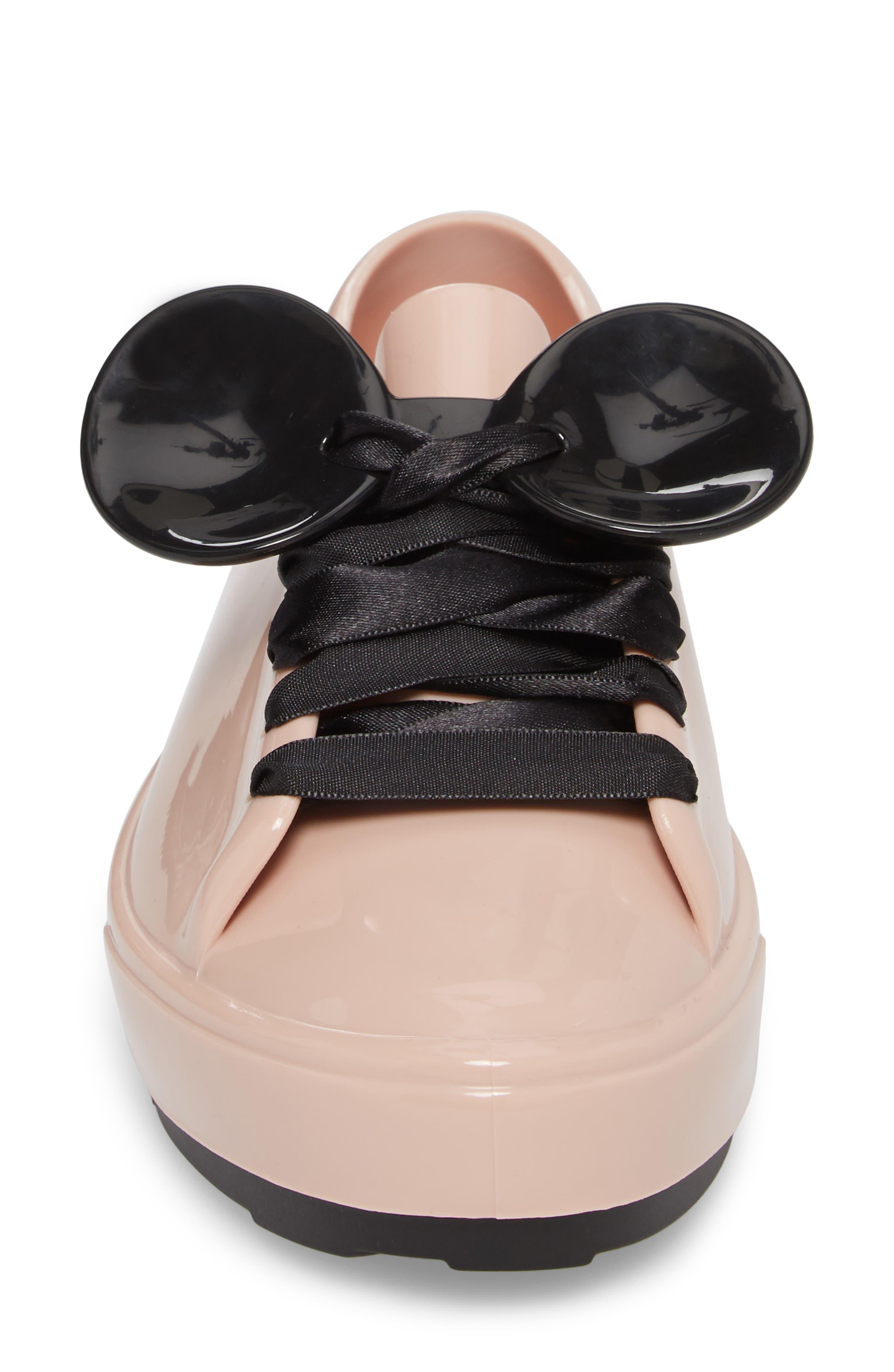 Alternate Image 4  - Melissa Be Disney Mouse Ear Sneaker (Women)