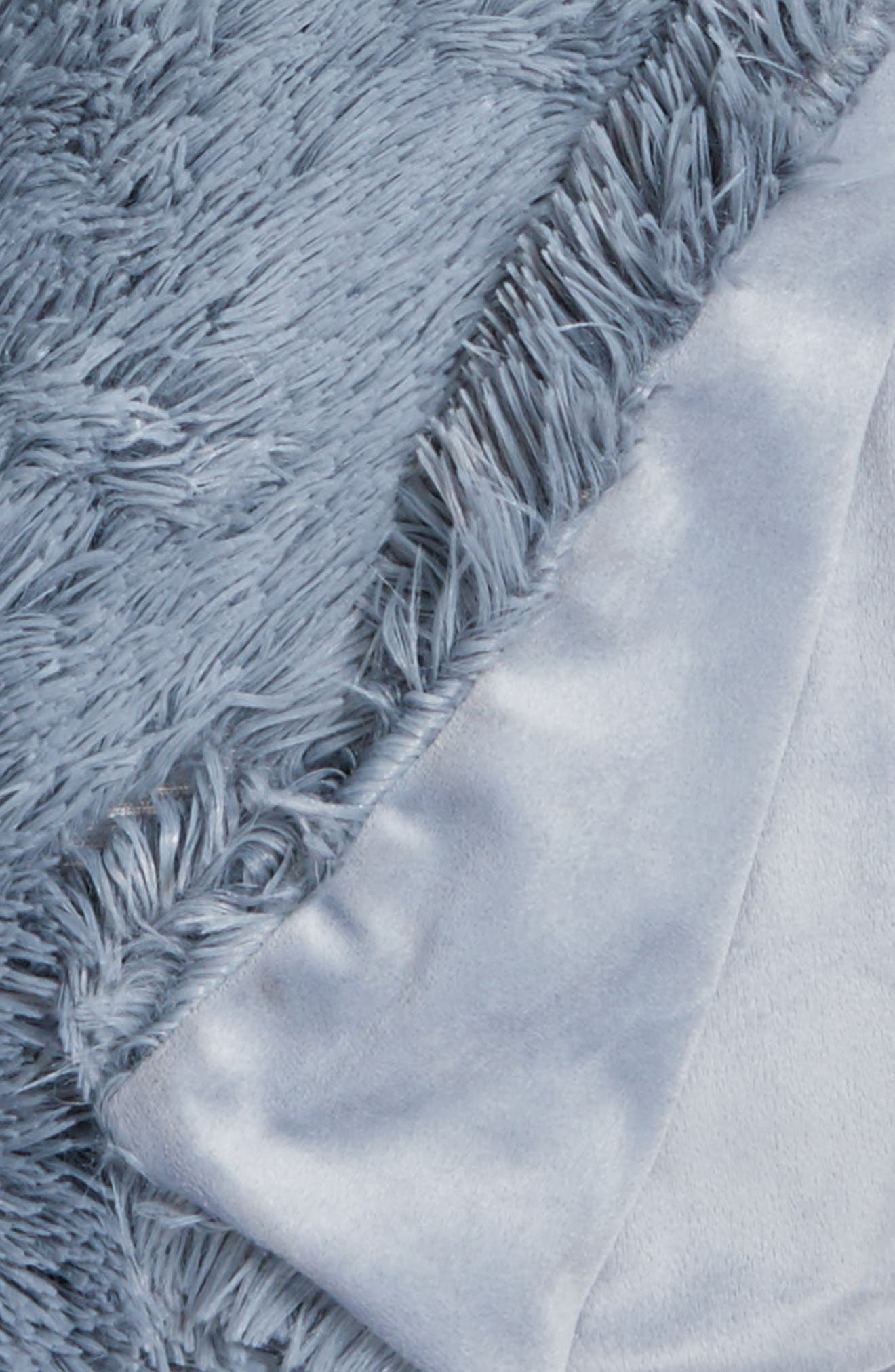 Alternate Image 3  - Nordstrom at Home Feather Faux Fur Throw