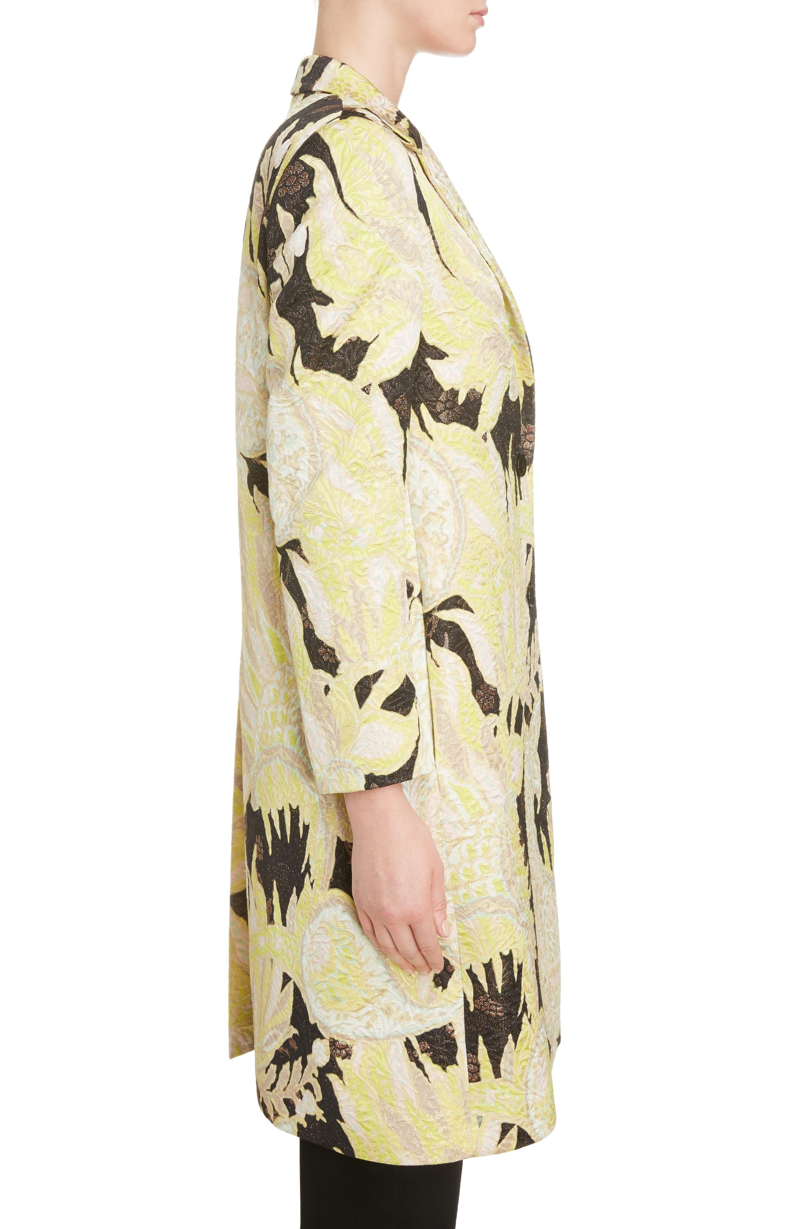 Alternate Image 3  - Dries Van Noten Paisley Brocade Coat