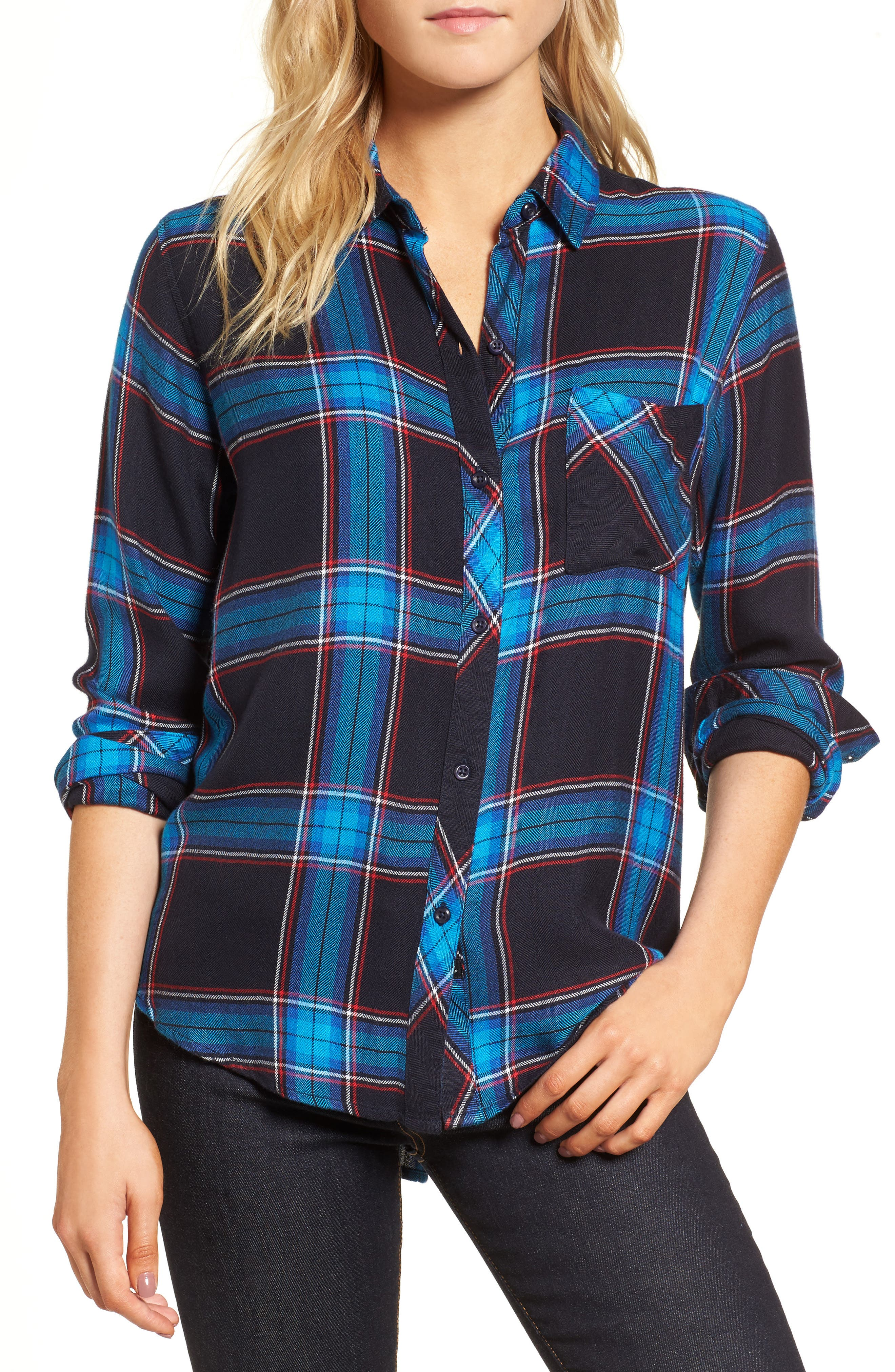 Outlet New Arrival Womens Hudson Check Shirt New Look Discount Supply Cheap Footlocker Finishline Discount Looking For 8260Tf