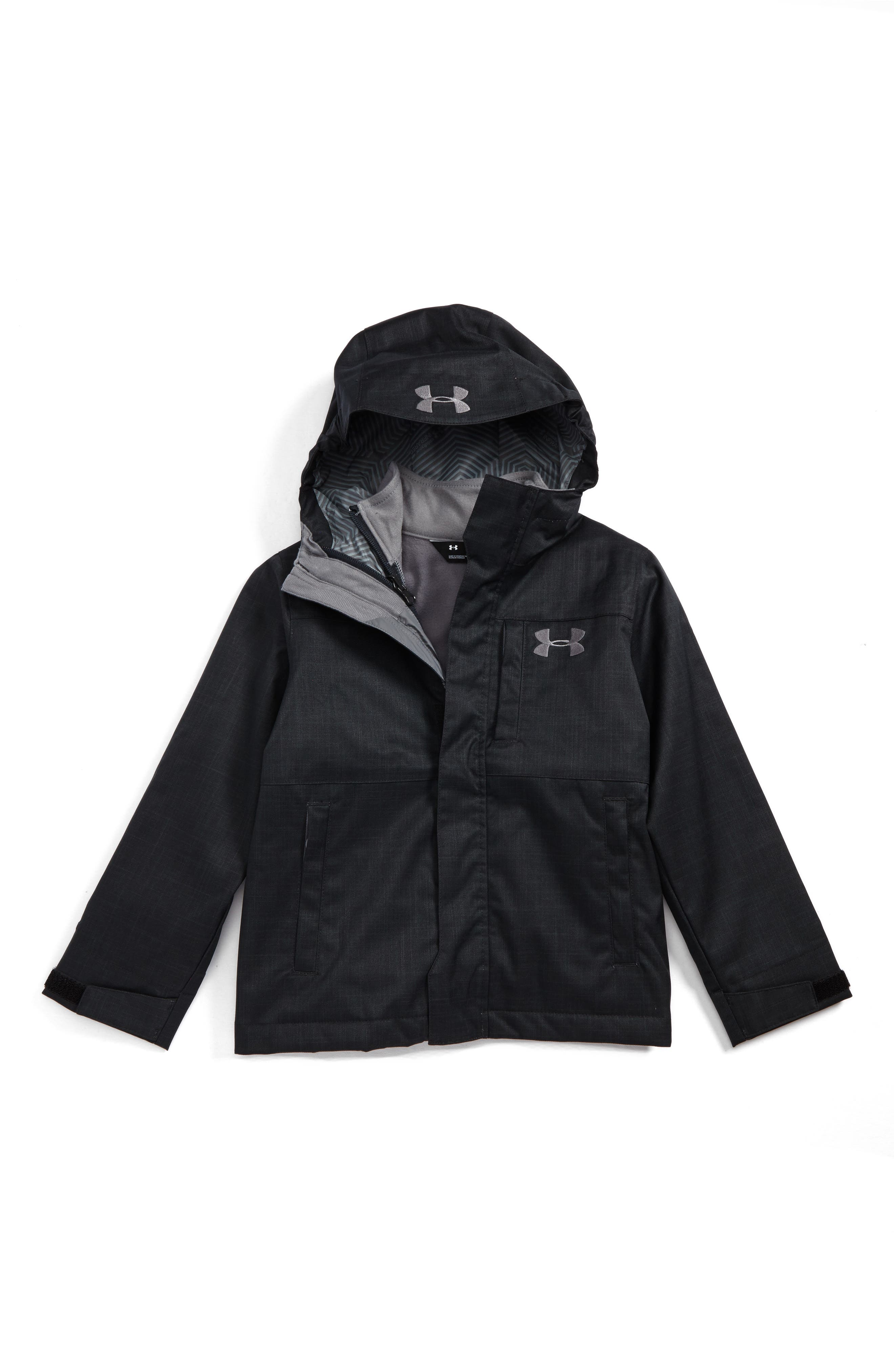 Wildwood ColdGear<sup>®</sup> 3-in-1 Jacket,                         Main,                         color, Black/ Graphite