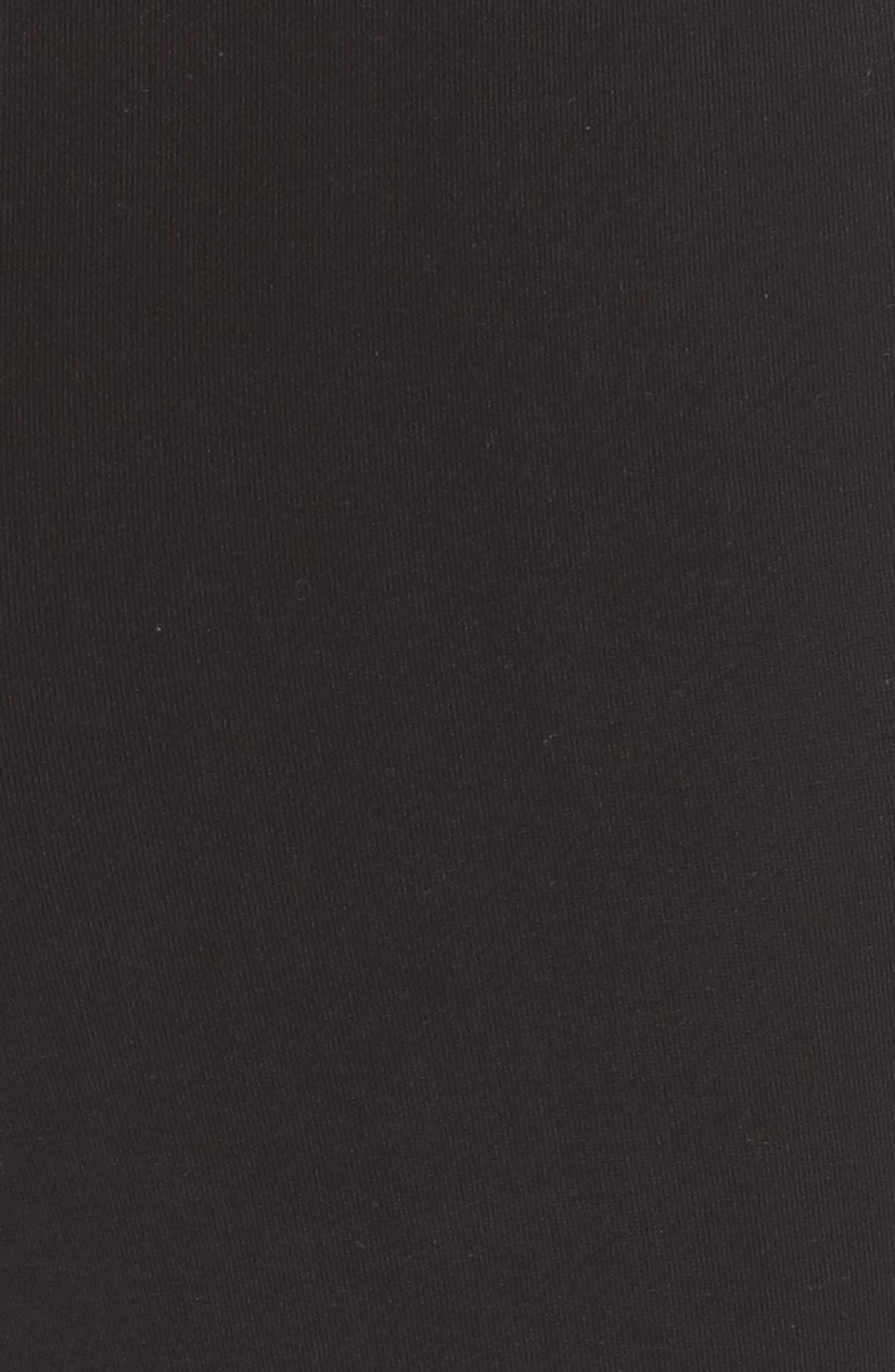 Higgens Side Snap Lounge Pants,                             Alternate thumbnail 7, color,                             Black