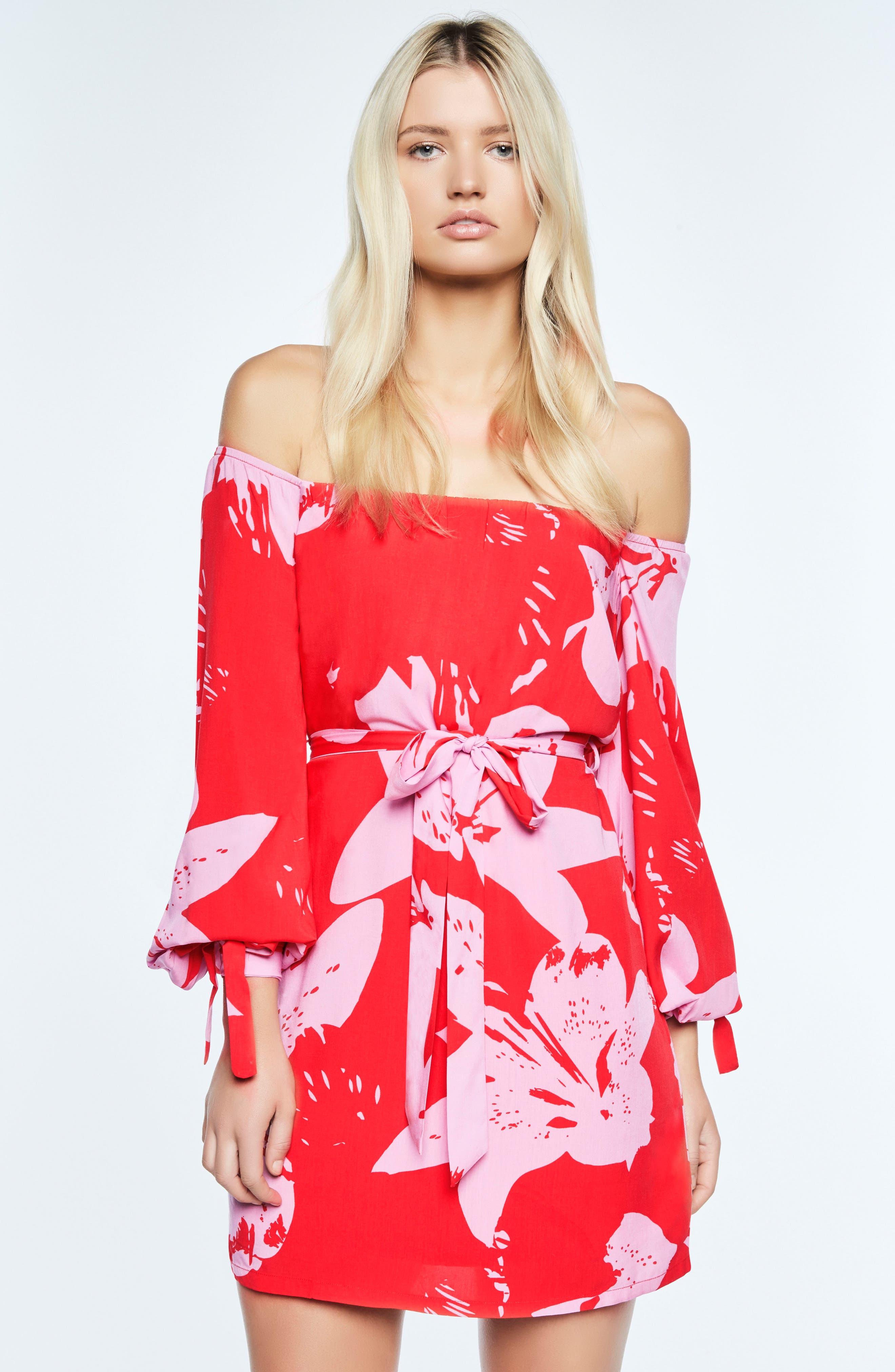 Alternate Image 4  - Bardot Dariela Off the Shoulder Minidress