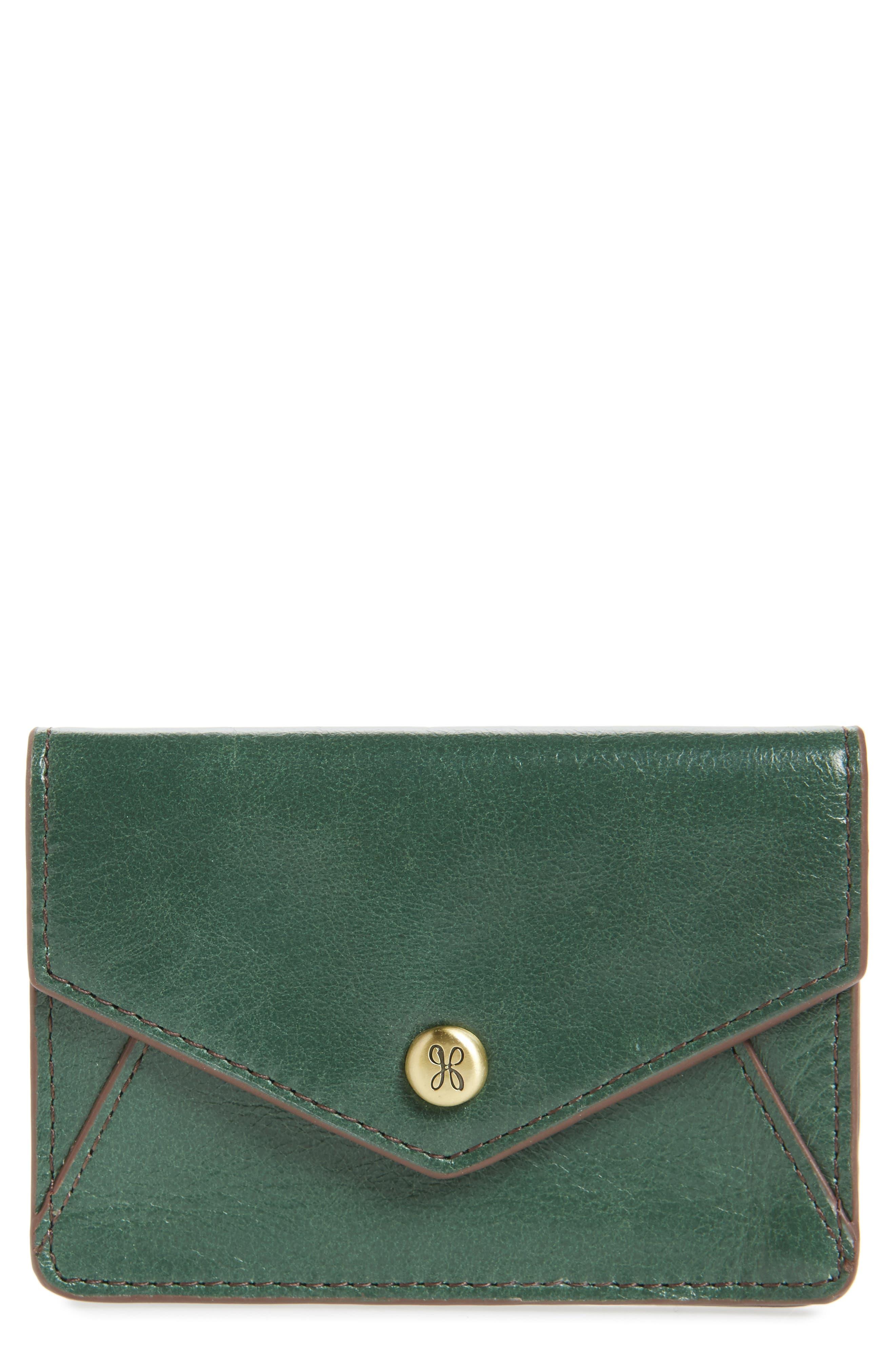Hobo Bolt Leather Card Wallet