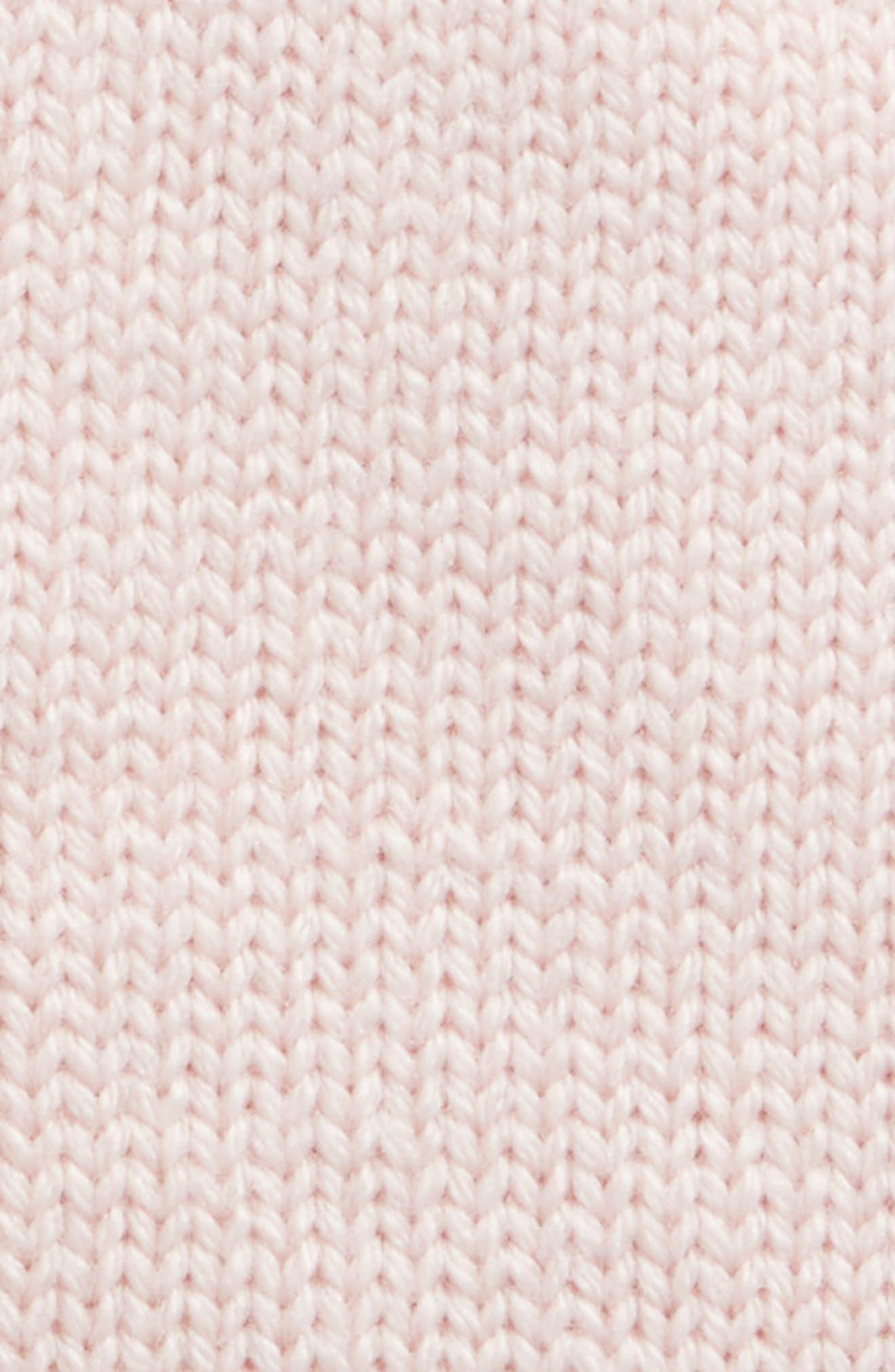 scallop pop top merino wool mittens,                             Alternate thumbnail 2, color,                             Rose Dew
