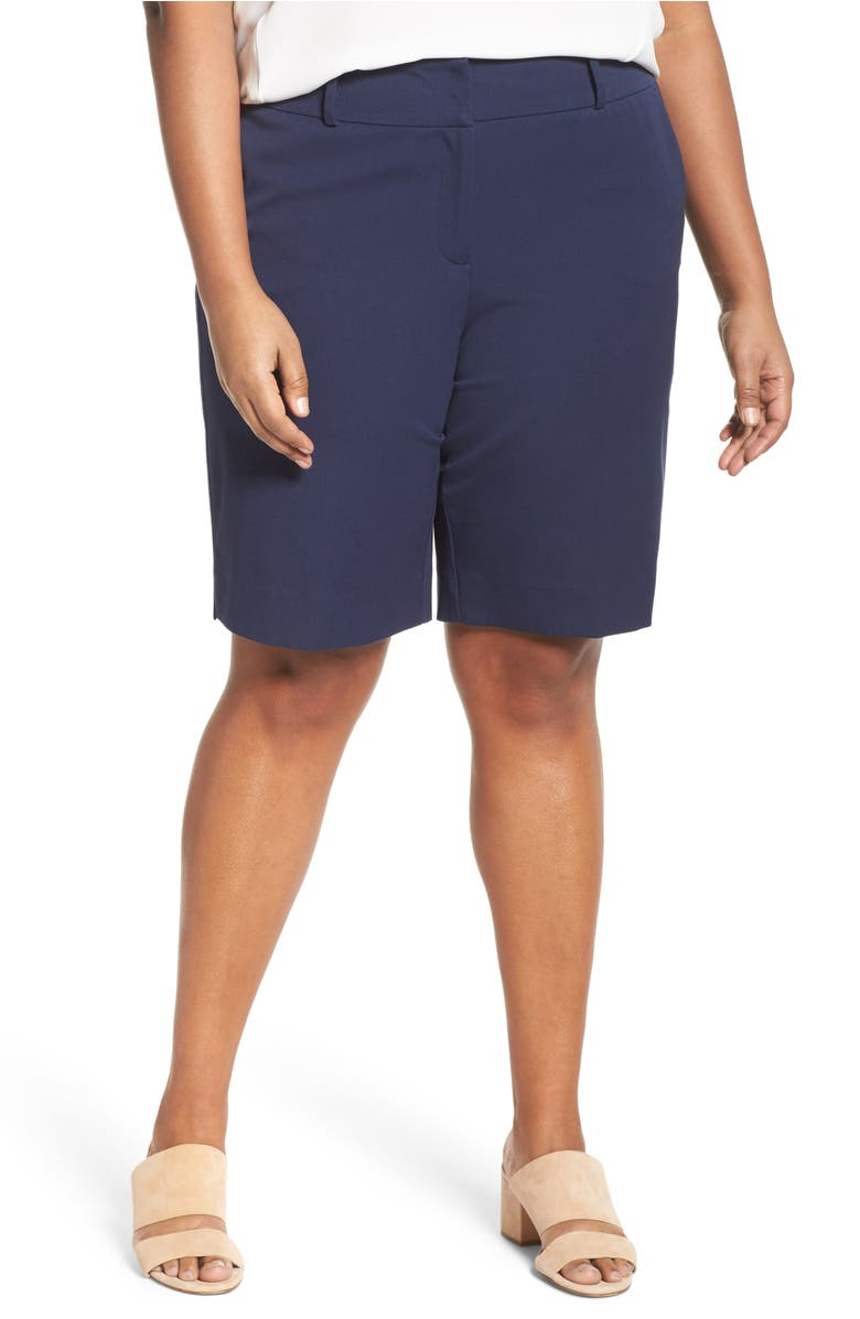 Bermuda Shorts,                         Main,                         color, Navy Peacoat