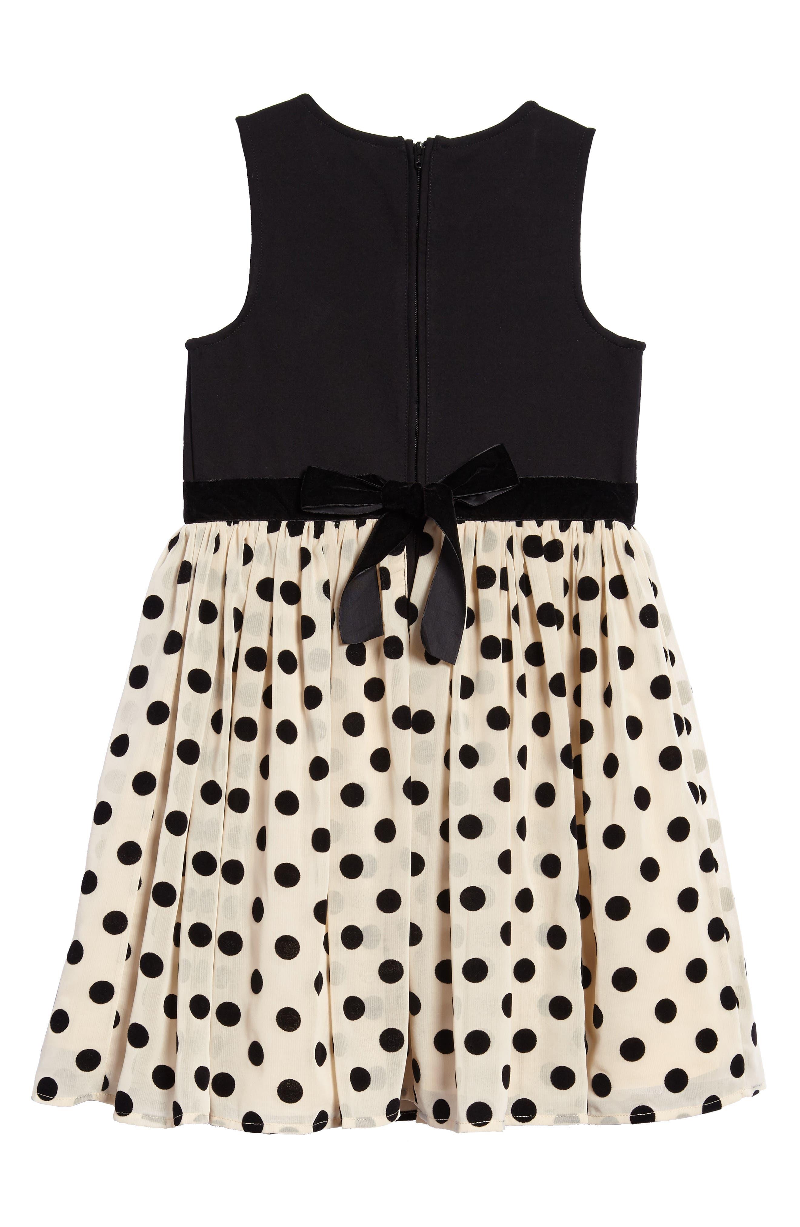Alternate Image 2  - Ruby & Bloom Mix Media Party Dress (Toddler Girls, Little Girls & Big Girls)