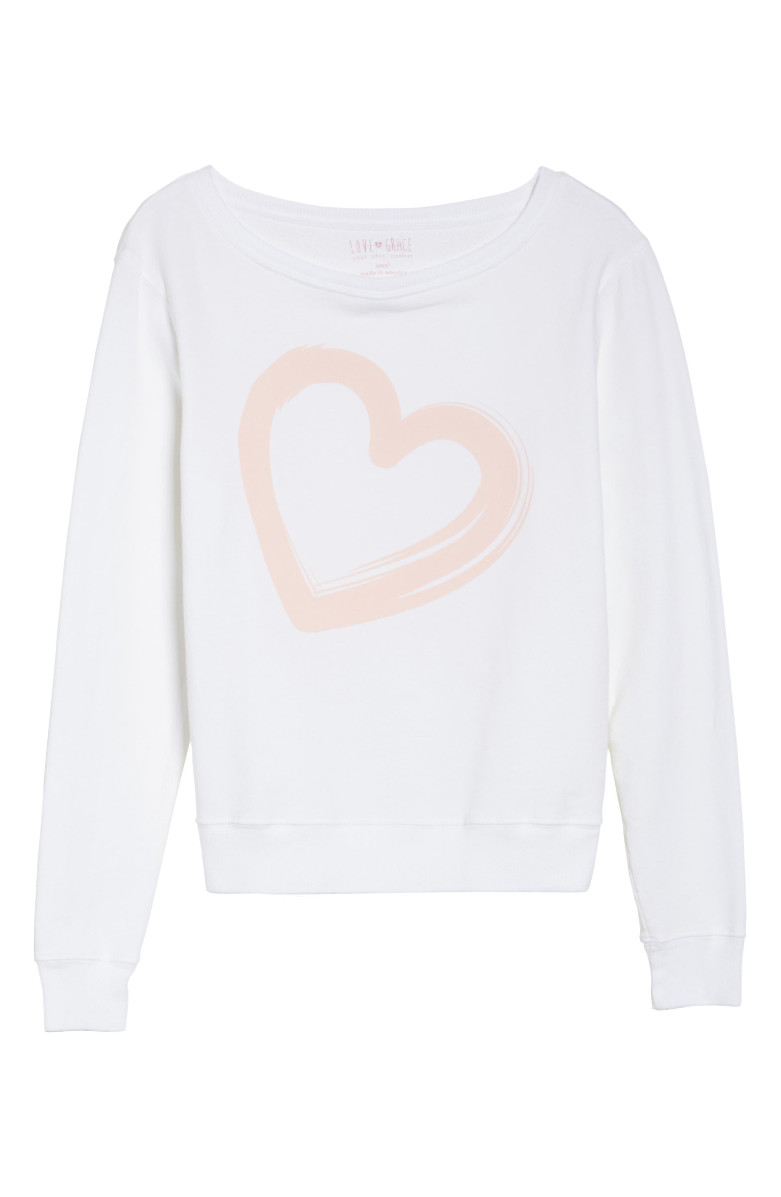Alternate Image 7  - LOVE+GRACE Lordes Fuzzy Fleece Sweatshirt