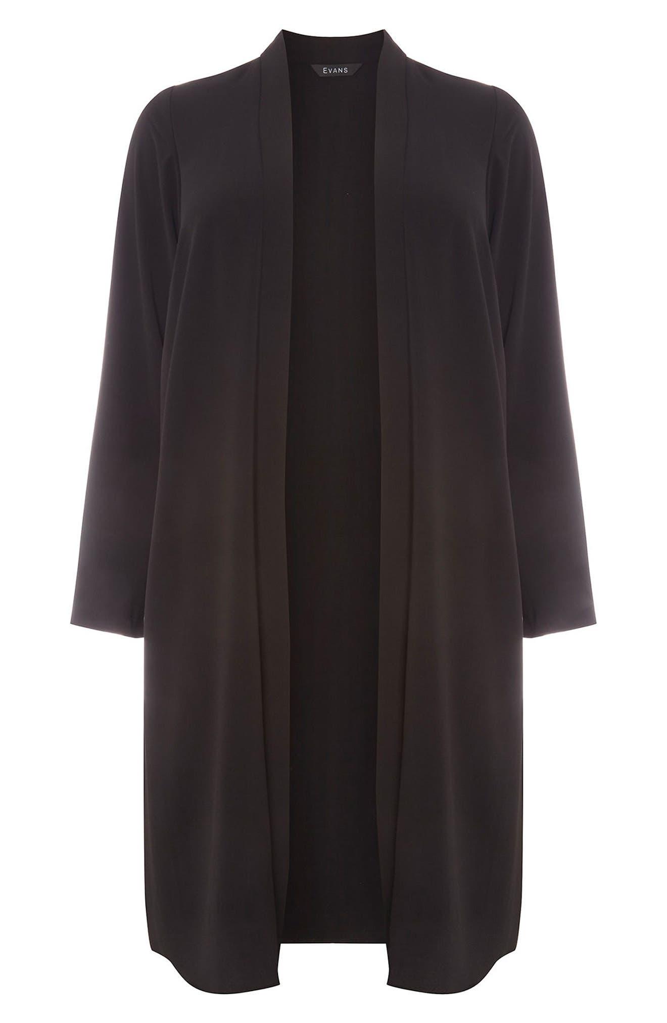 Alternate Image 5  - Evans Long Jacket (Plus Size)