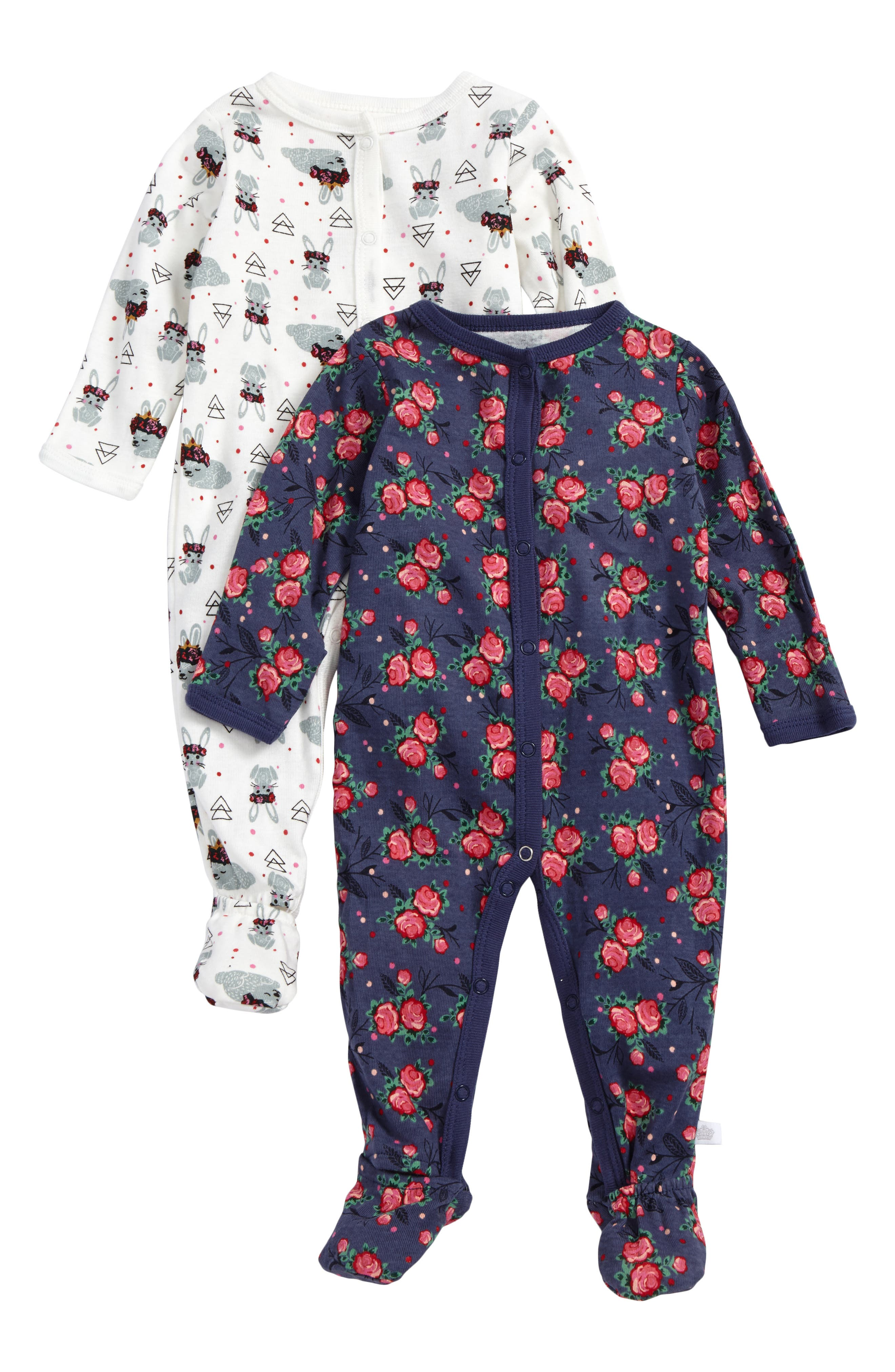 Rosie Pope 2-Pack Footies (Baby Girls)