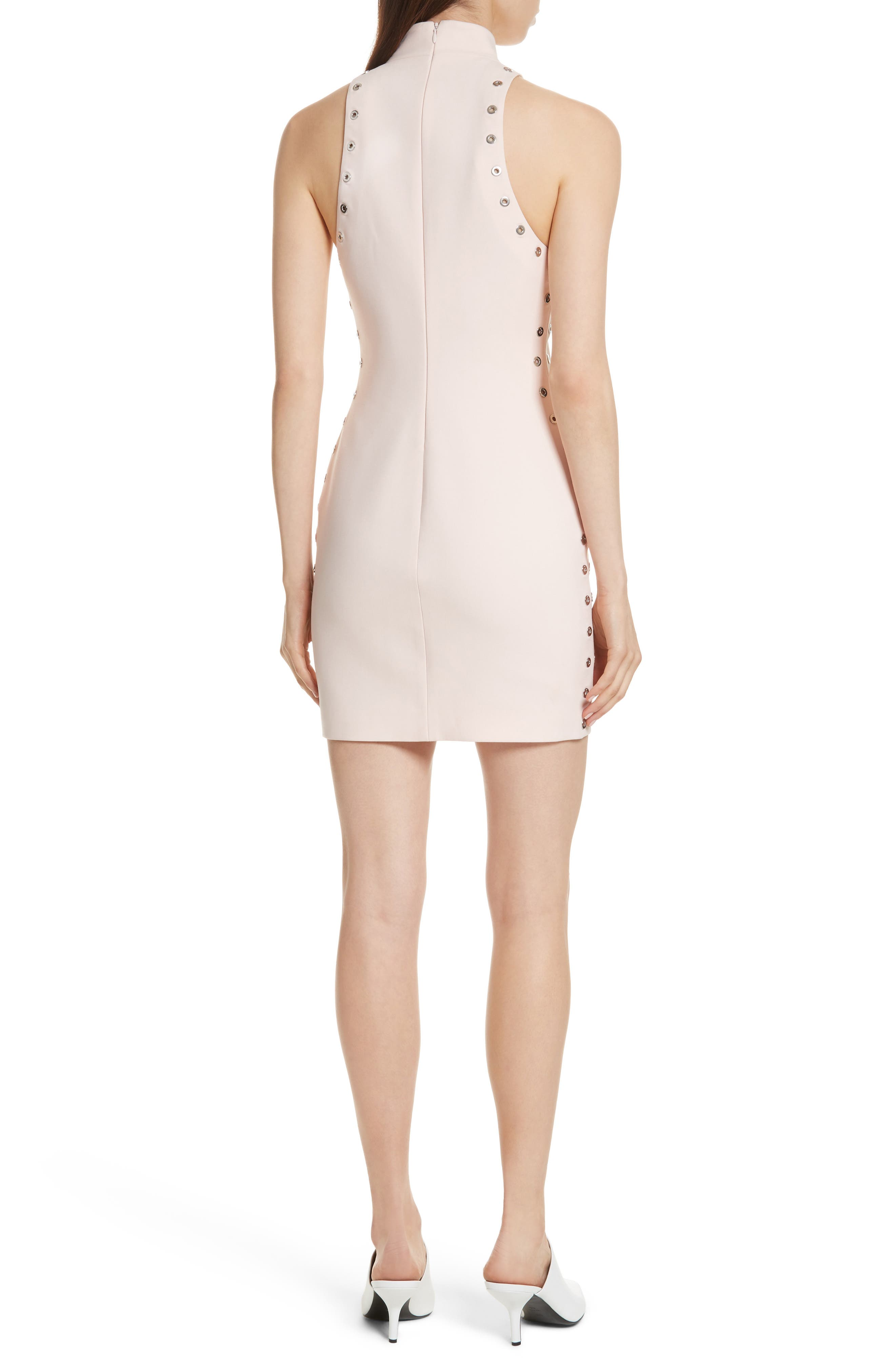 Ava Grommet Minidress,                             Alternate thumbnail 2, color,                             Pearl Blush