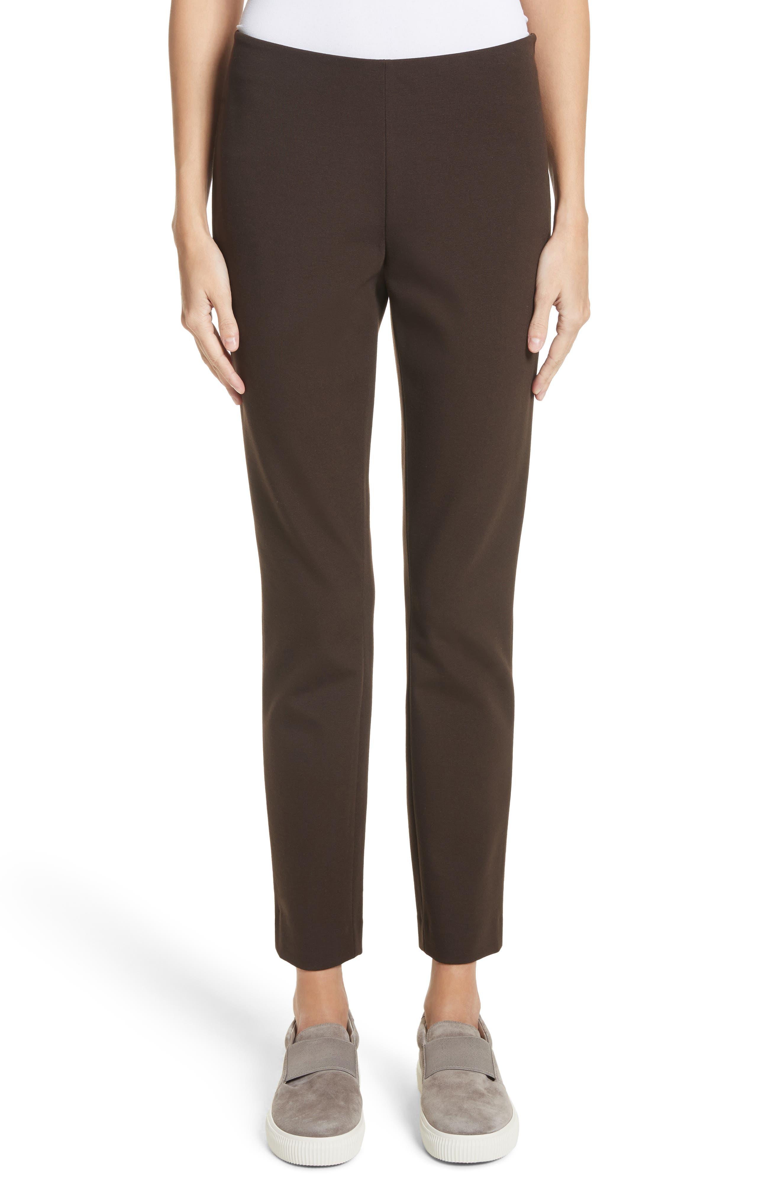 Lafayette 148 New York Heyward Punto Milano Slim Pants (Regular & Petite)
