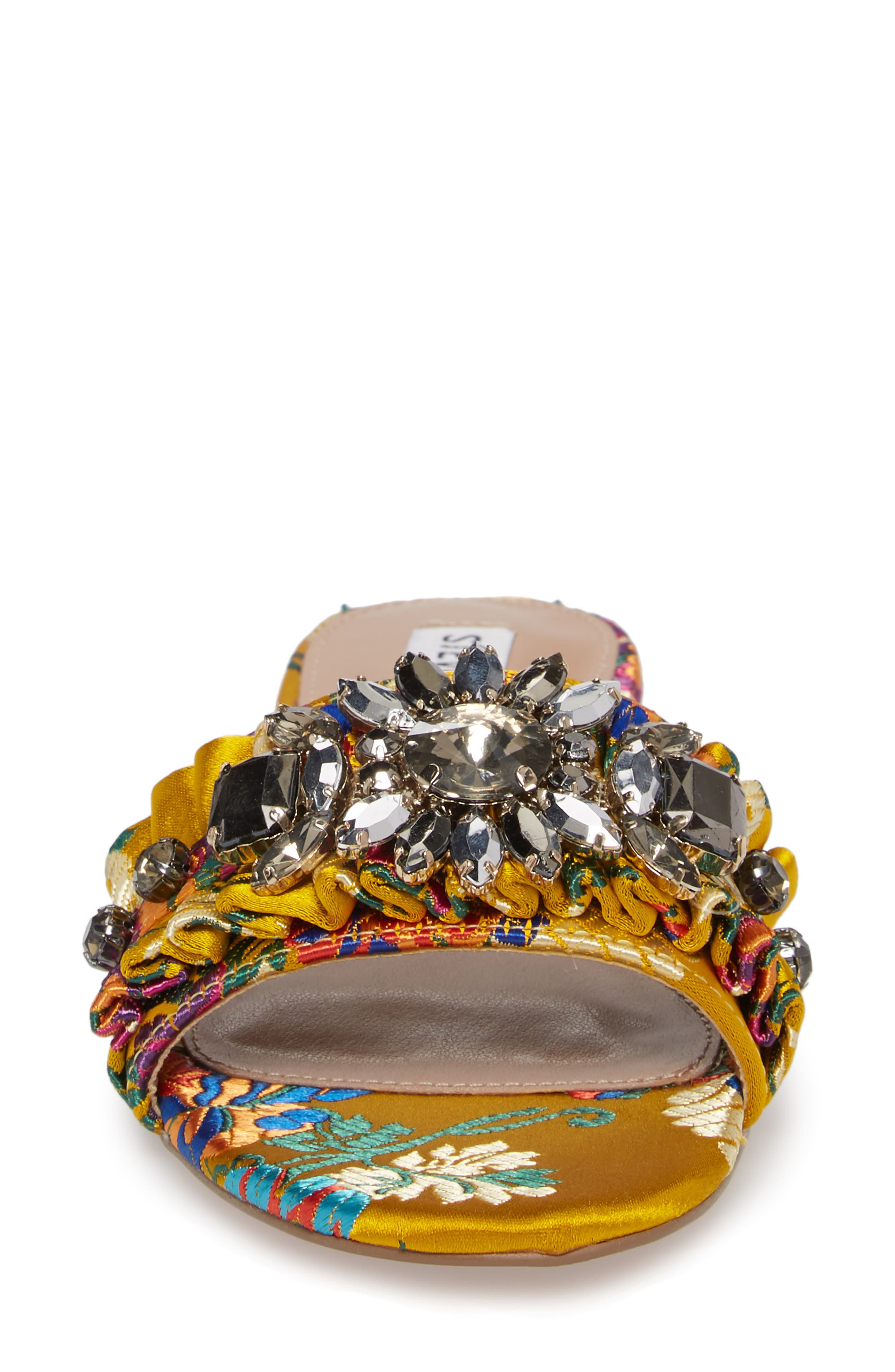 Alternate Image 4  - Steve Madden Pomona Crystal Embellished Slide Sandal (Women)