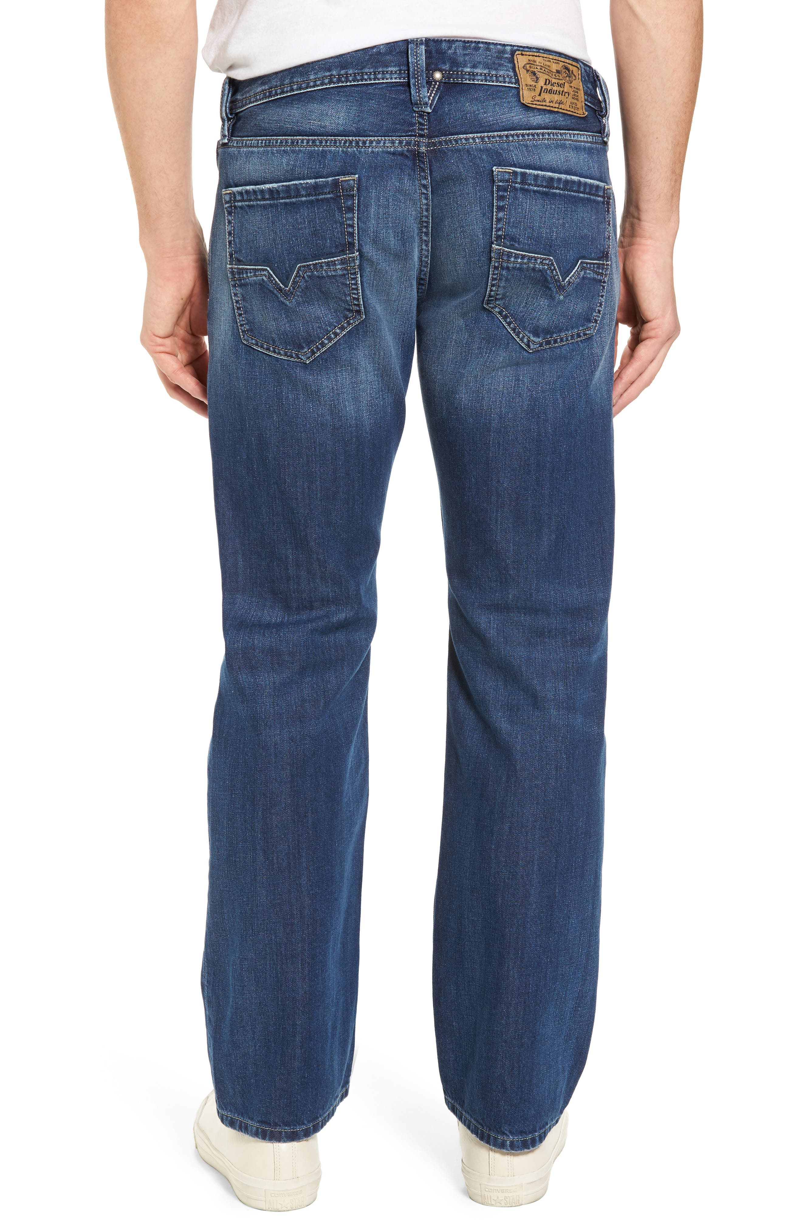 Larkee Relaxed Fit Jeans,                             Alternate thumbnail 2, color,                             008Xr