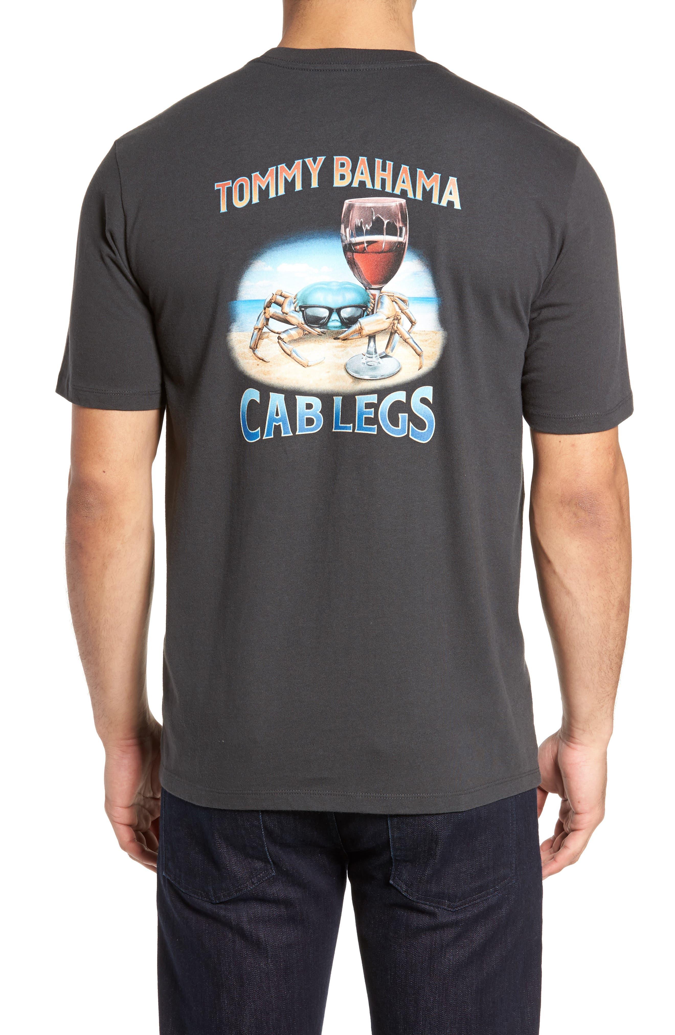 Cab Legs Graphic T-Shirt,                             Alternate thumbnail 2, color,                             Coal