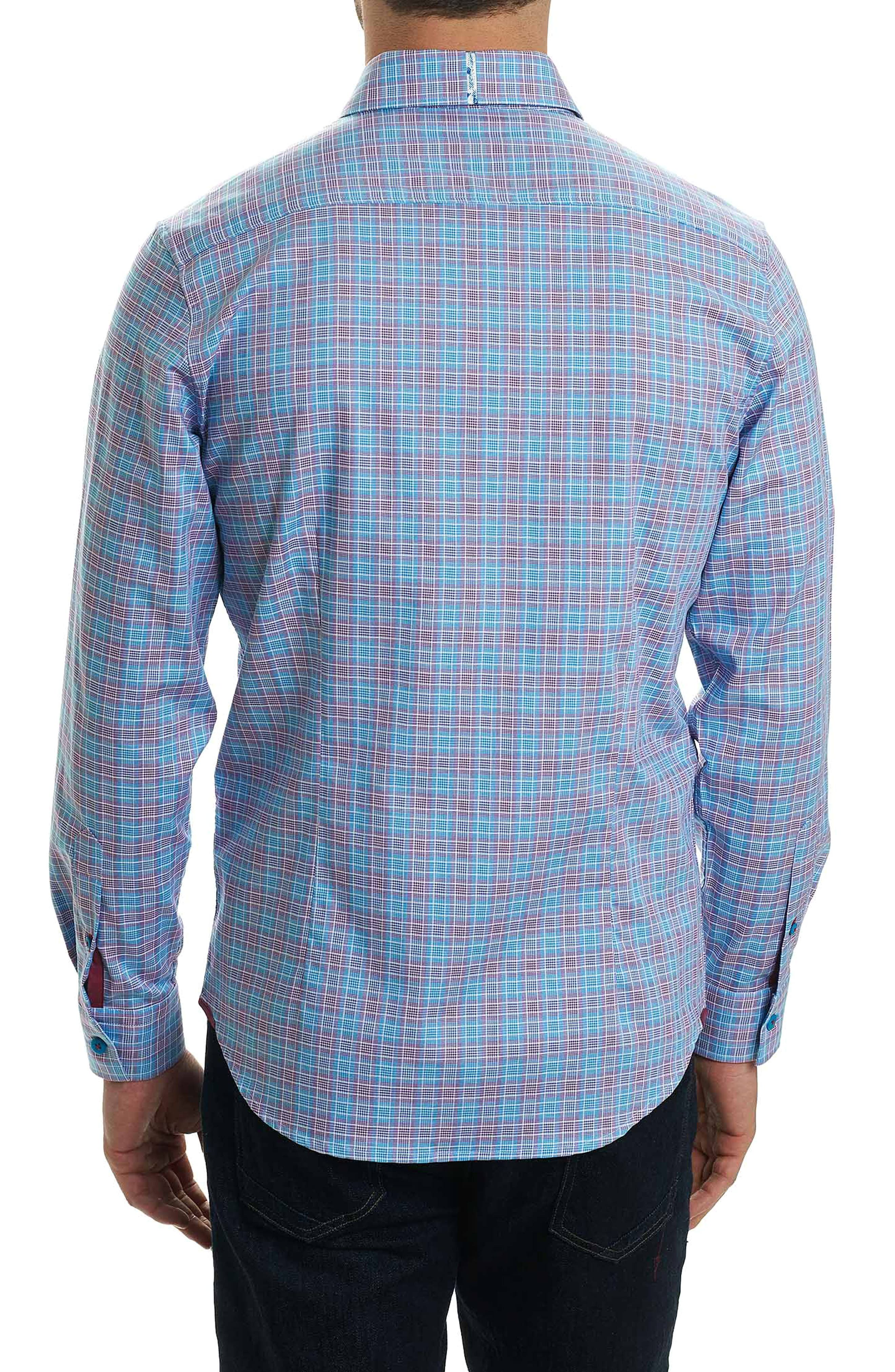 Ryan Regular Fit Sport Shirt,                             Alternate thumbnail 2, color,                             Purple