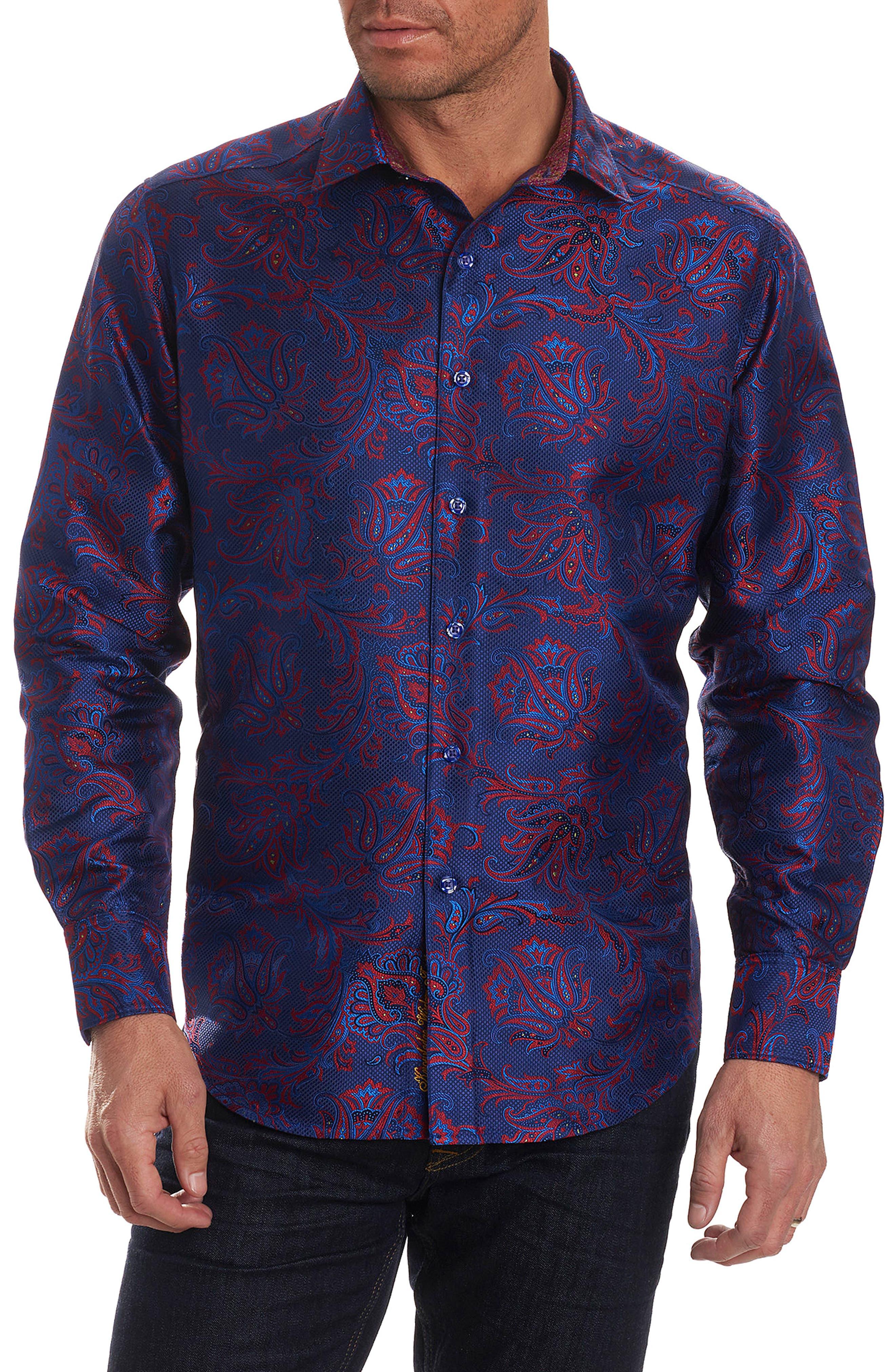 Robert Graham Doosland Stane Limited Edition Classic Fit Silk Sport Shirt