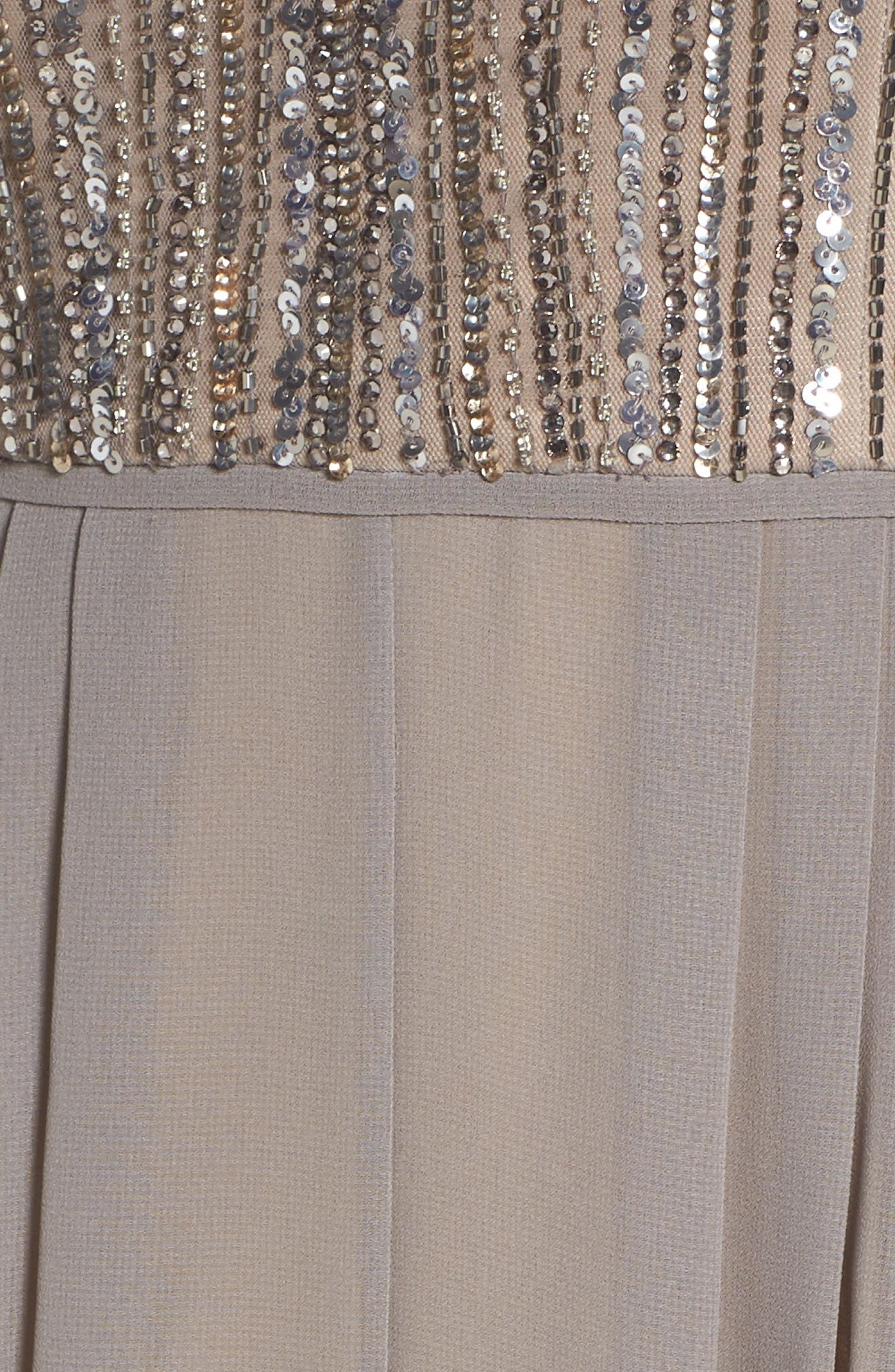 Alternate Image 5  - Adrianna Papell Embellished Georgette Gown