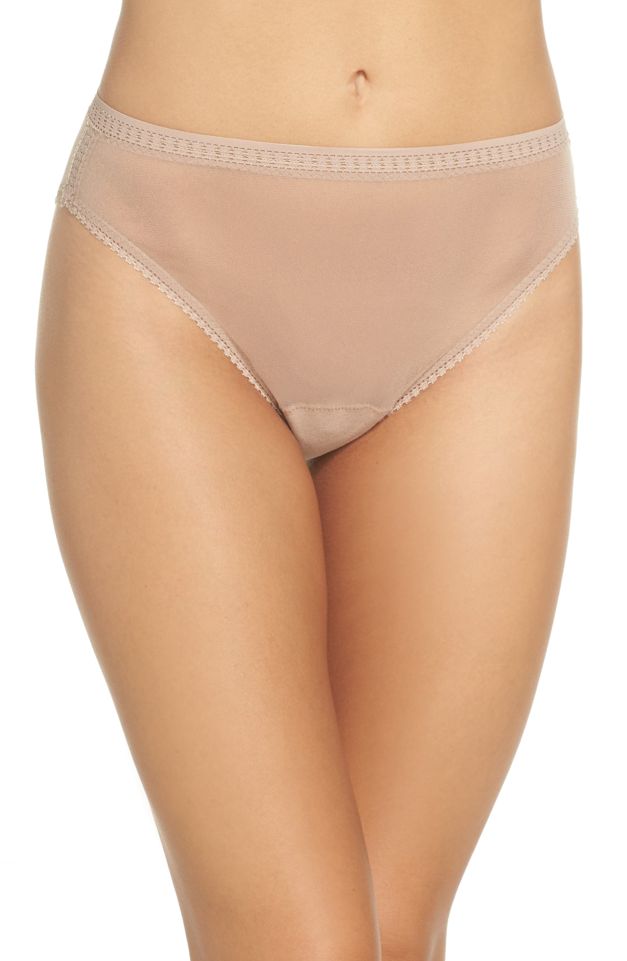 High Cut Briefs,                         Main,                         color, Mocha