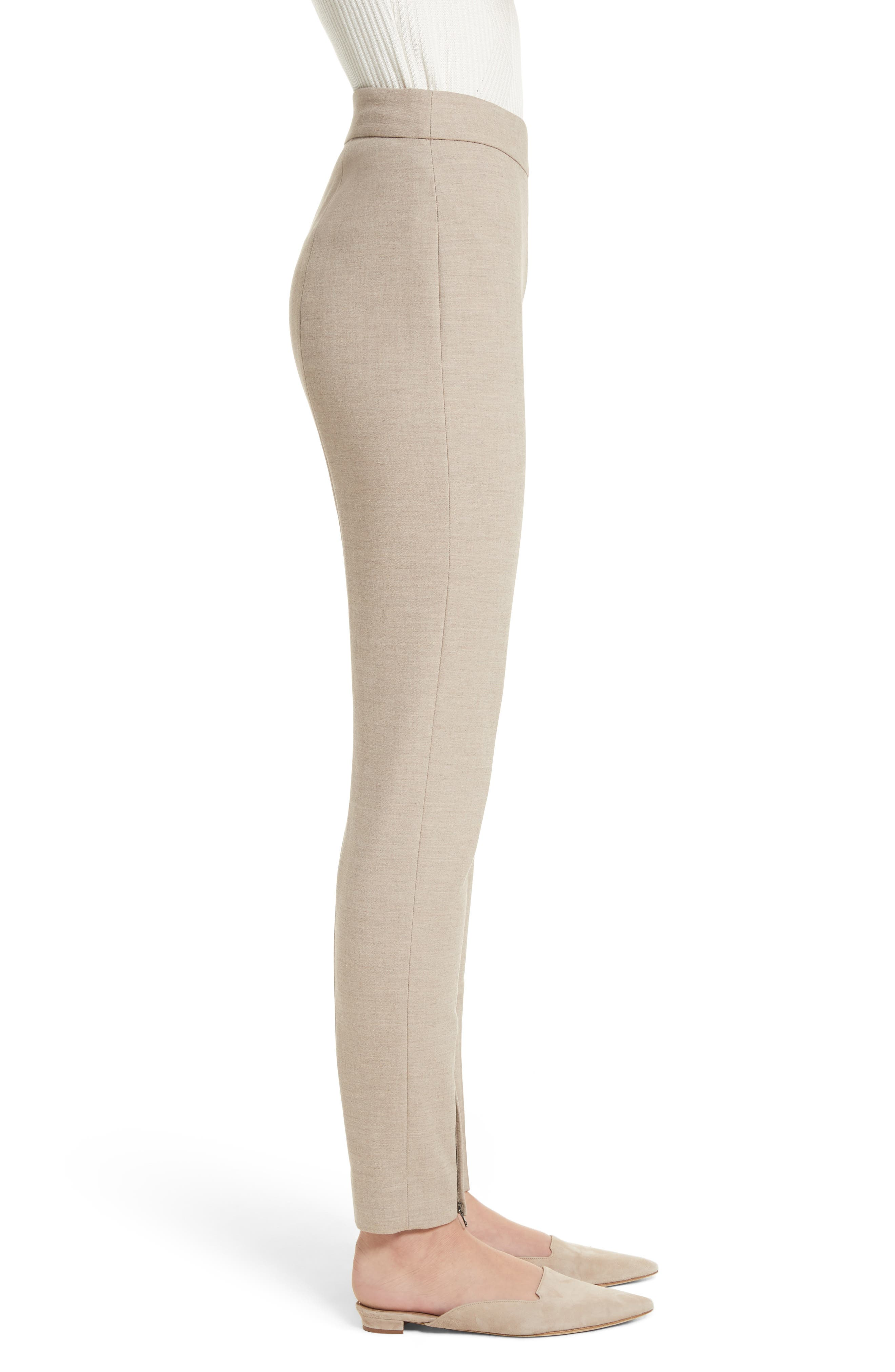 Alternate Image 4  - St. John Collection Summer Bella Double Weave Leggings