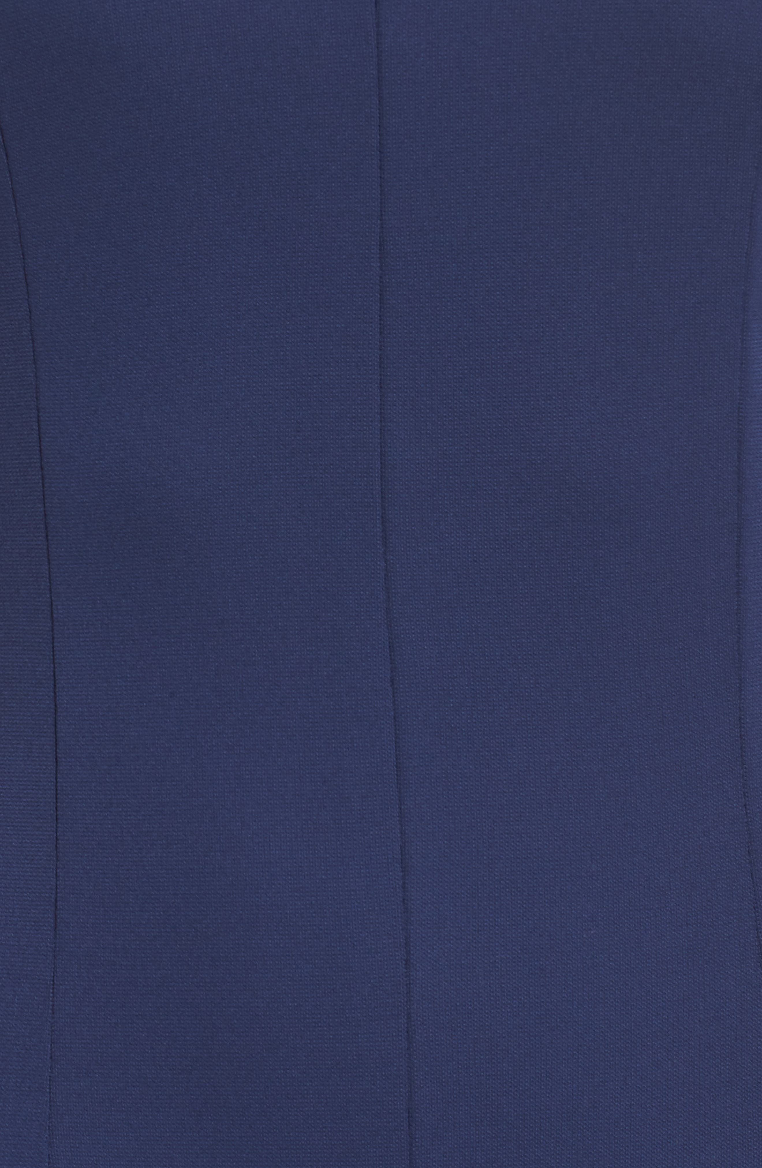 Victoria Sleeveless Gown,                             Alternate thumbnail 5, color,                             Navy