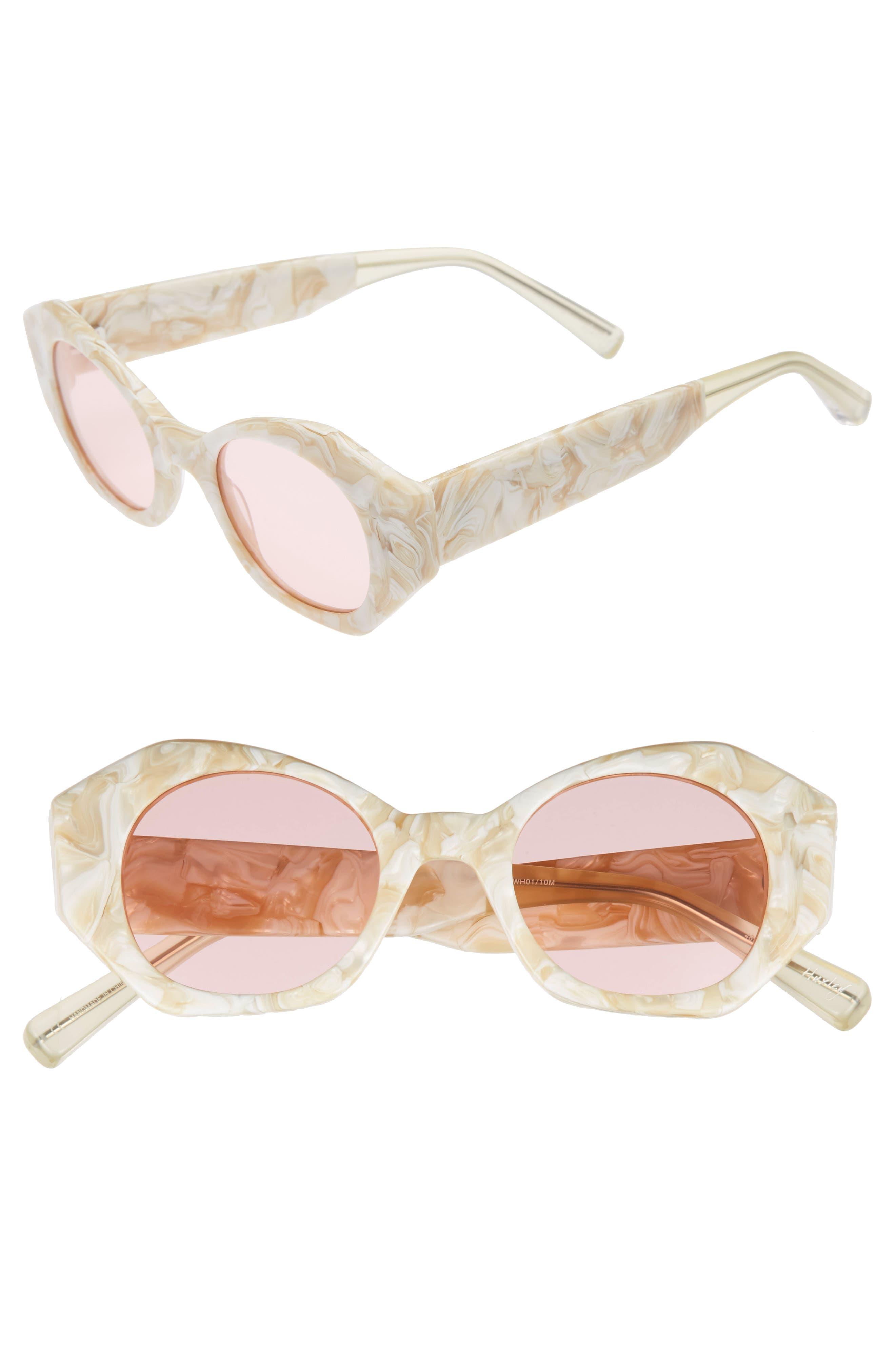 Elizabeth and James Huxley 46mm Geometric Sunglasses