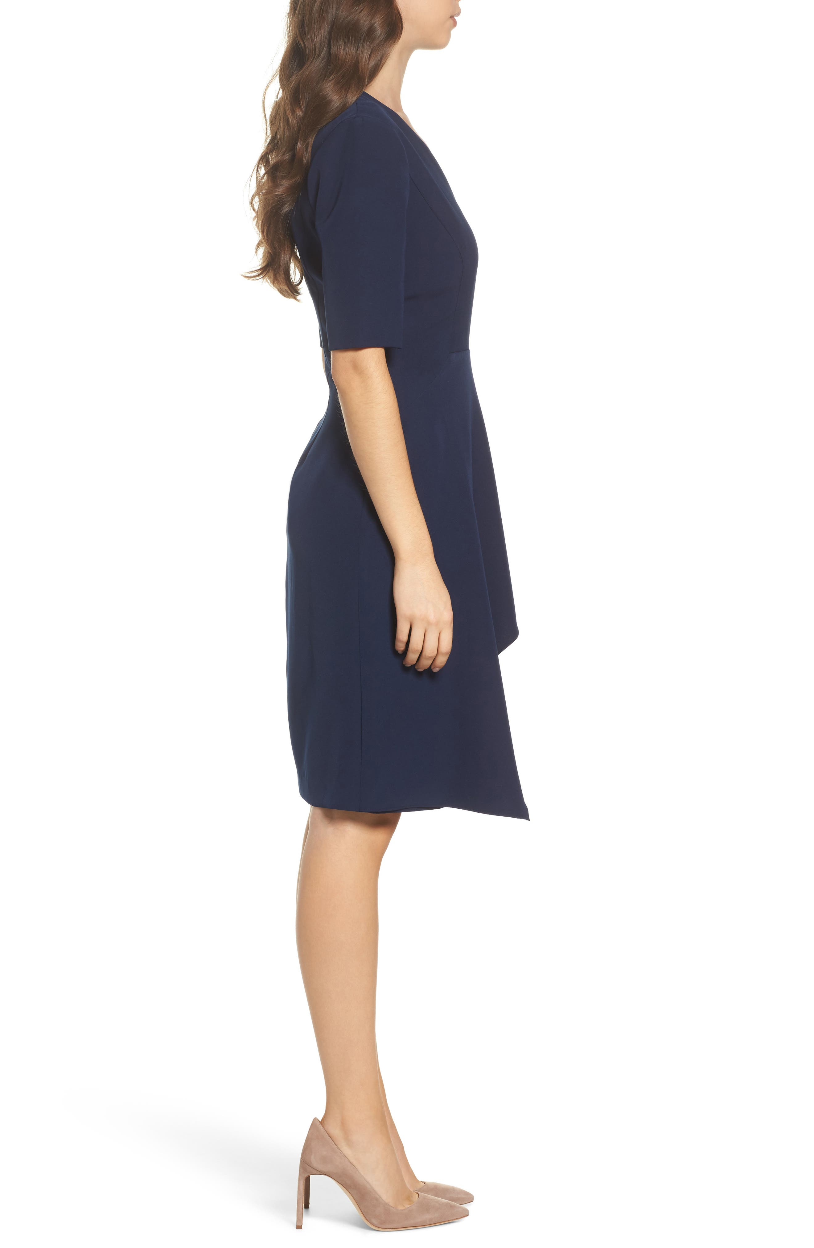 Alternate Image 3  - Maggy London Solid Dream Crepe Sheath Dress