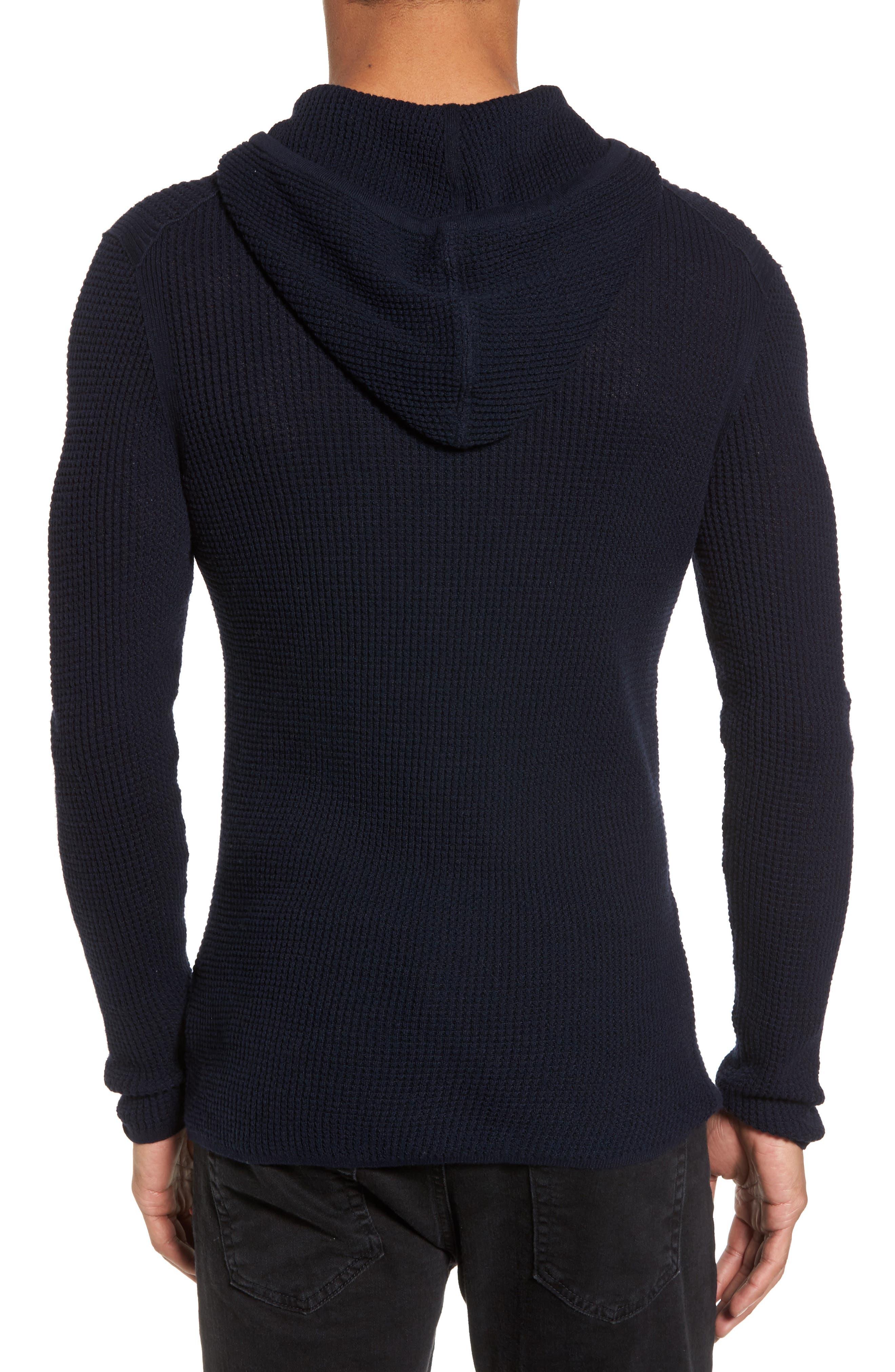 Thermal Pullover Hoodie,                             Alternate thumbnail 2, color,                             Marine