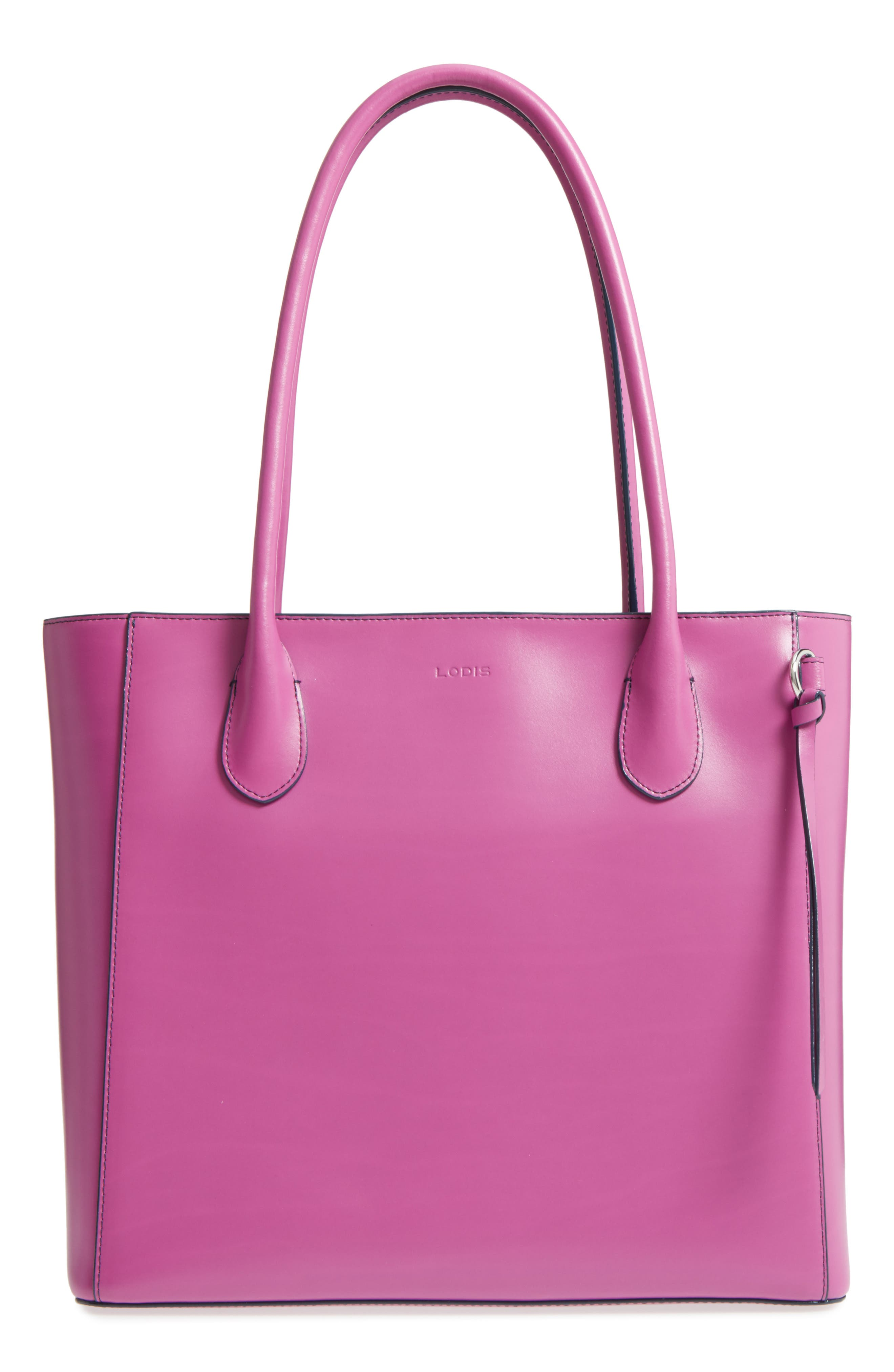 Lodis Cecily RFID Leather Tote