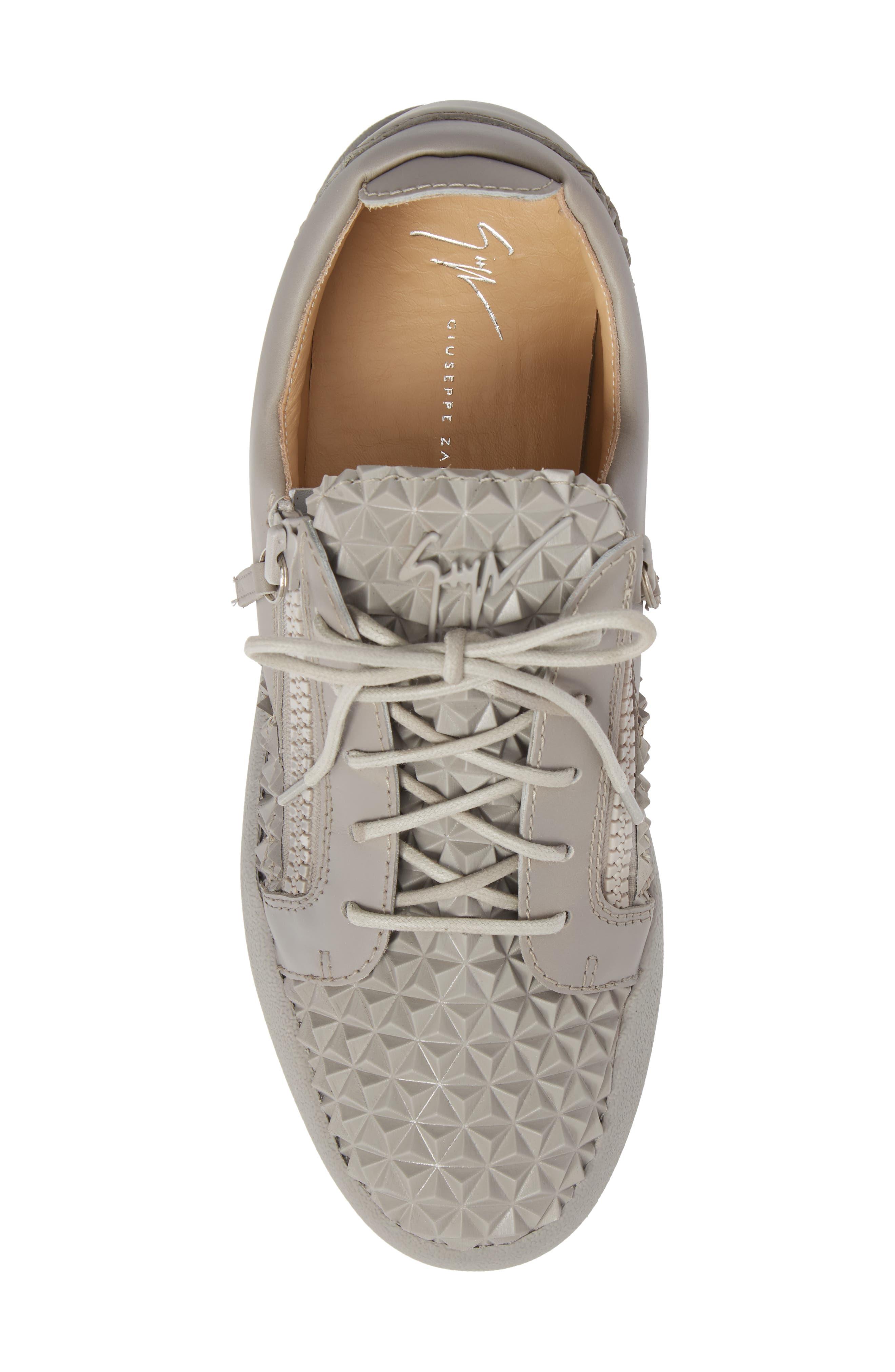 Low Top Sneaker,                             Alternate thumbnail 5, color,                             Grey
