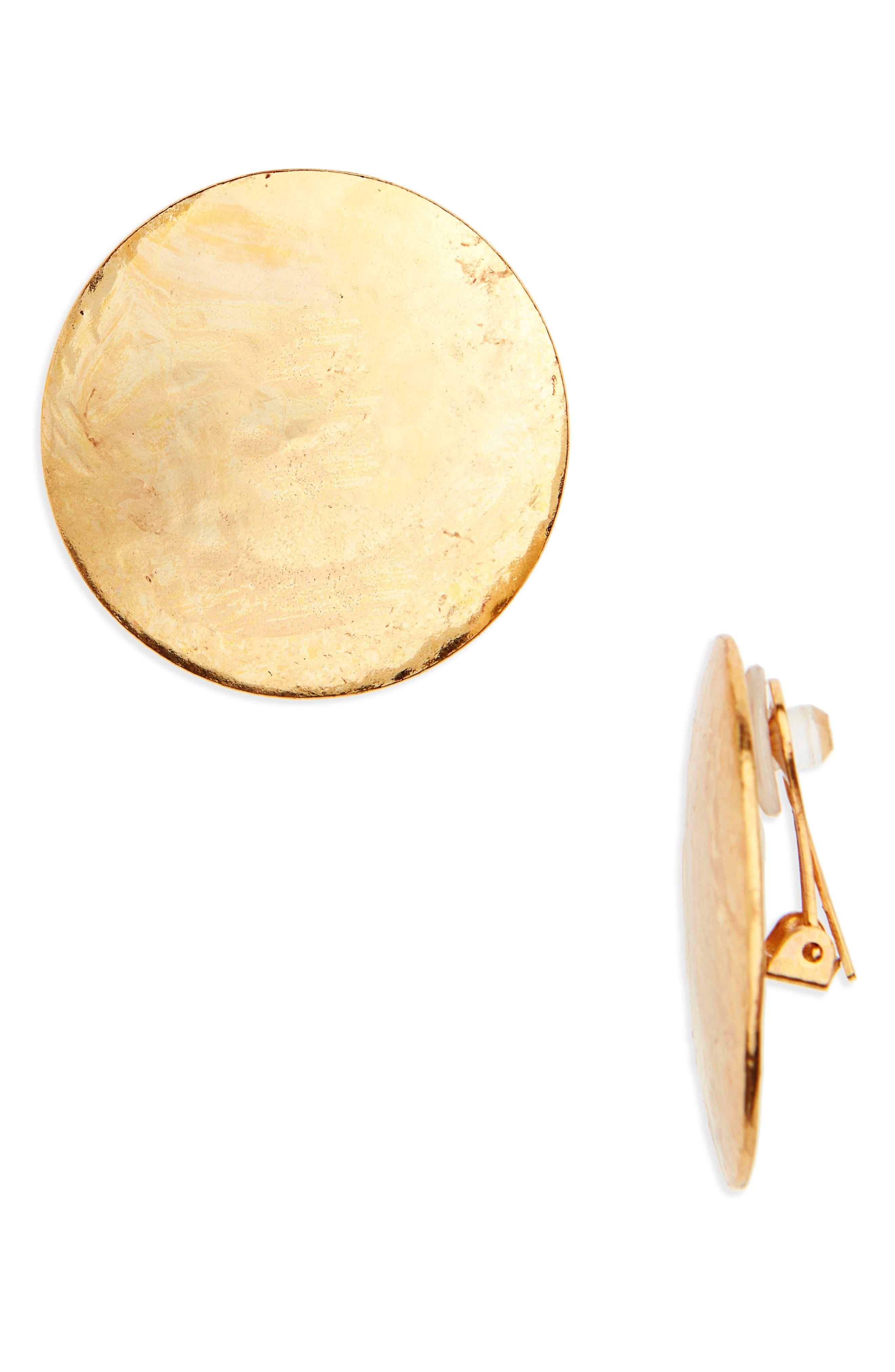 Alternate Image 1 Selected - Oscar de la Renta Clip Earrings