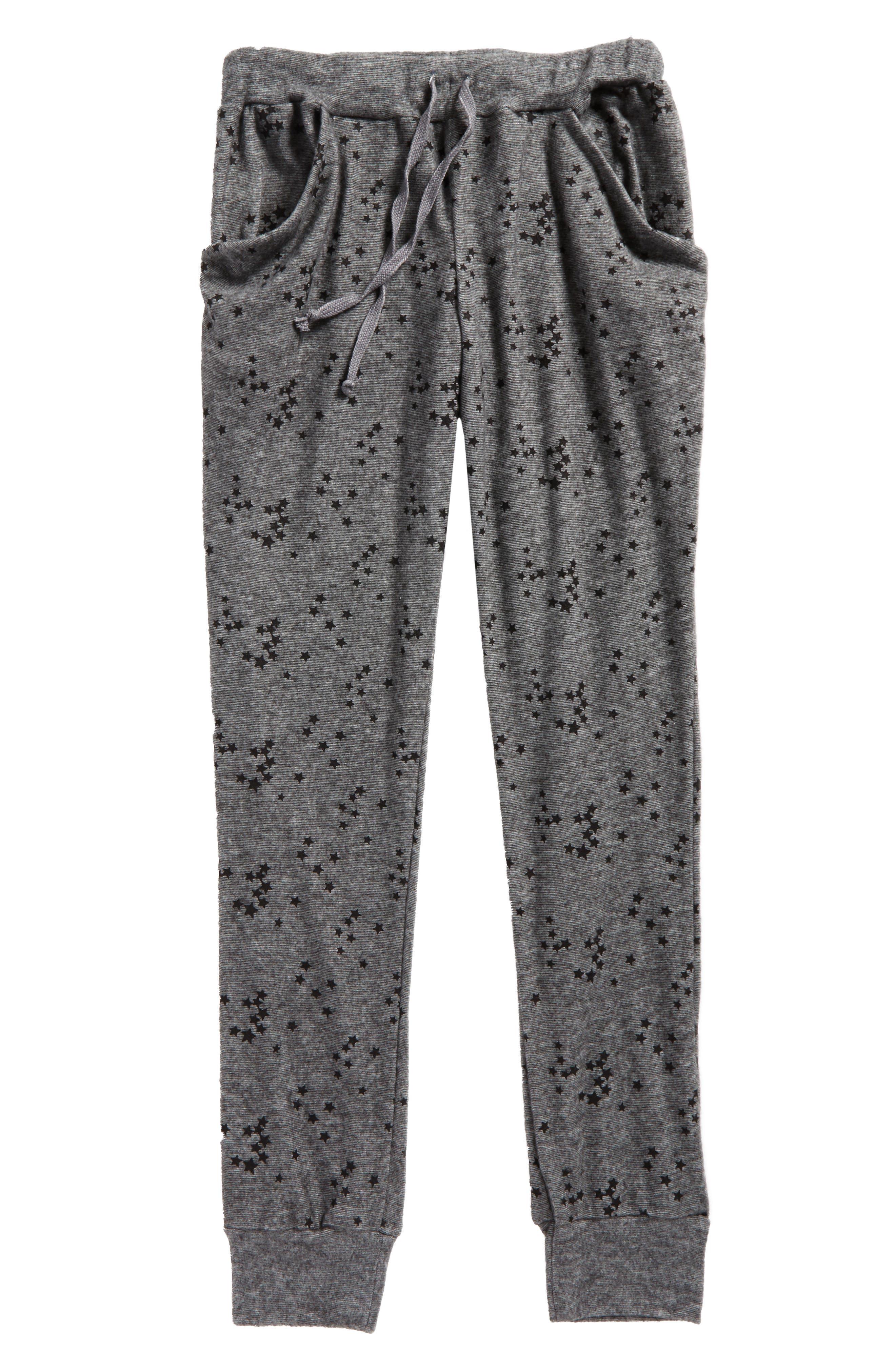 T2 Love Hachi Print Jogger Pants (Big Girls)
