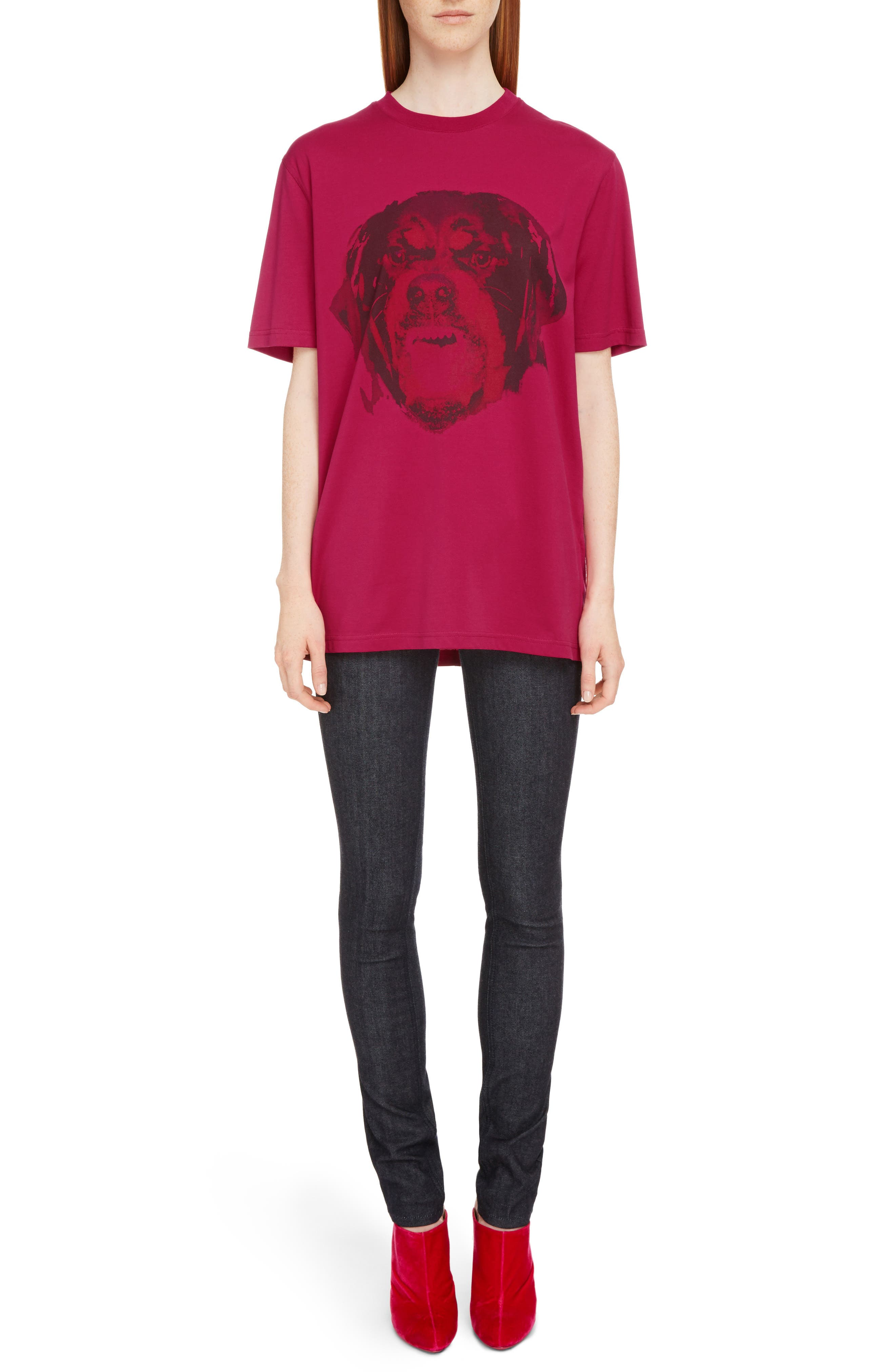 Alternate Image 6  - Givenchy Rottweiler Print Tee