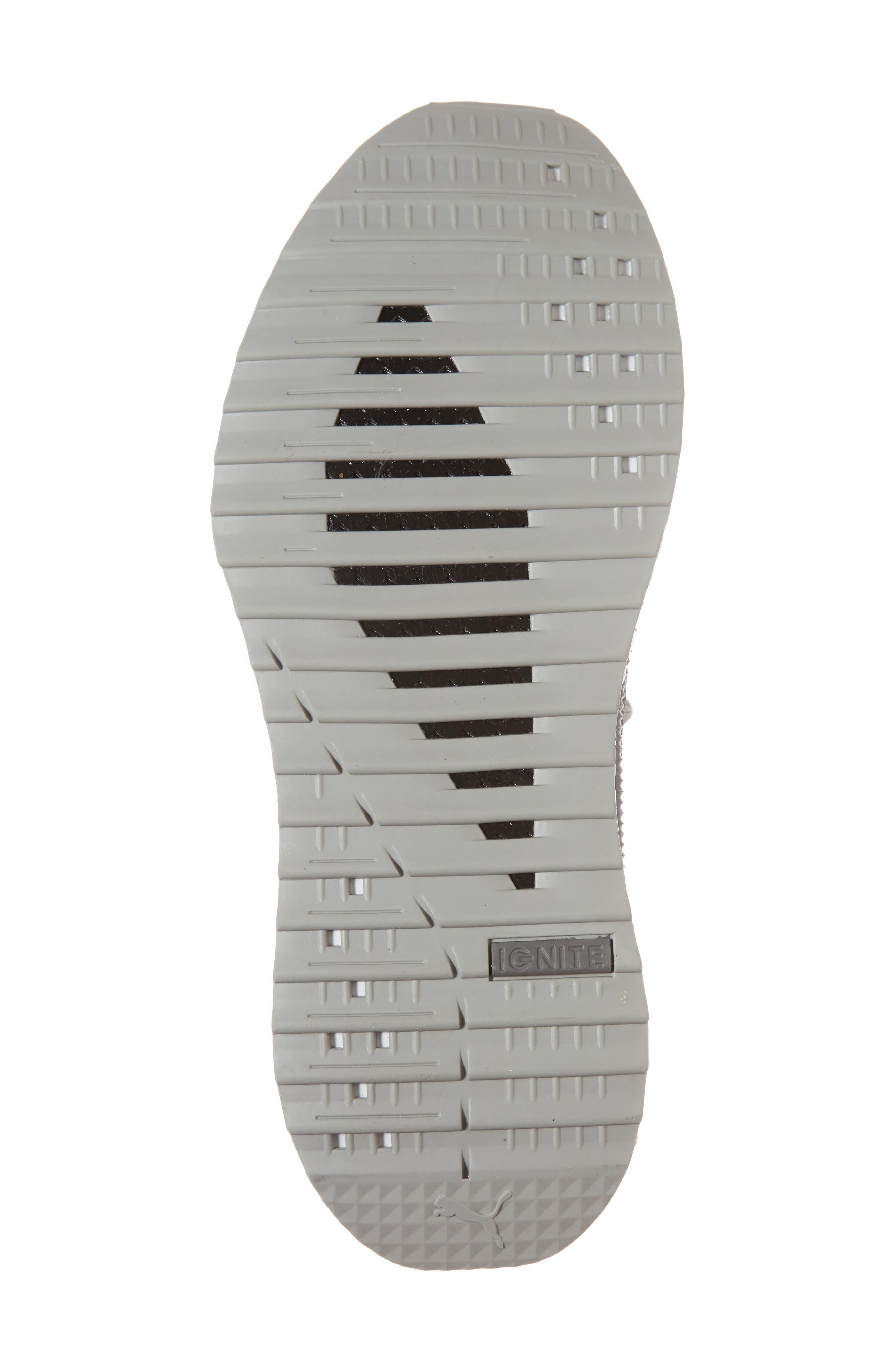 Tsugi Netfit evoKNIT Training Shoe,                             Alternate thumbnail 6, color,                             Quiet Shade-Asphalt