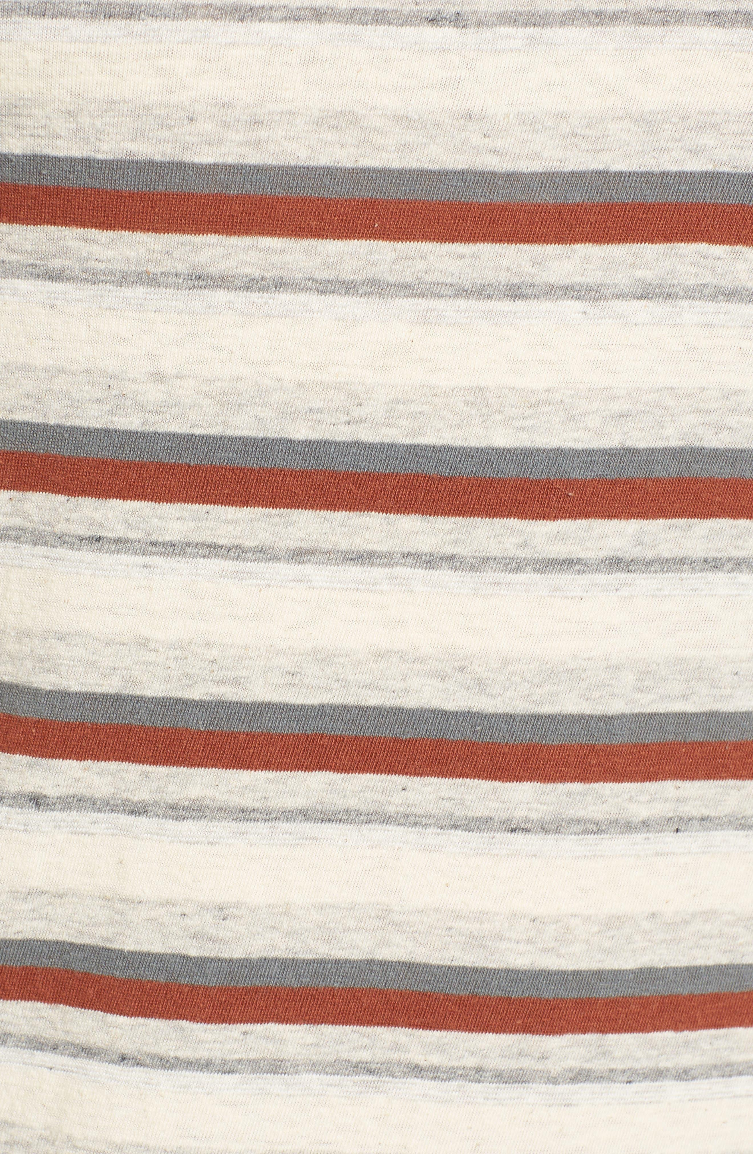 Alternate Image 5  - James Perse Sleeveless Stripe Dress