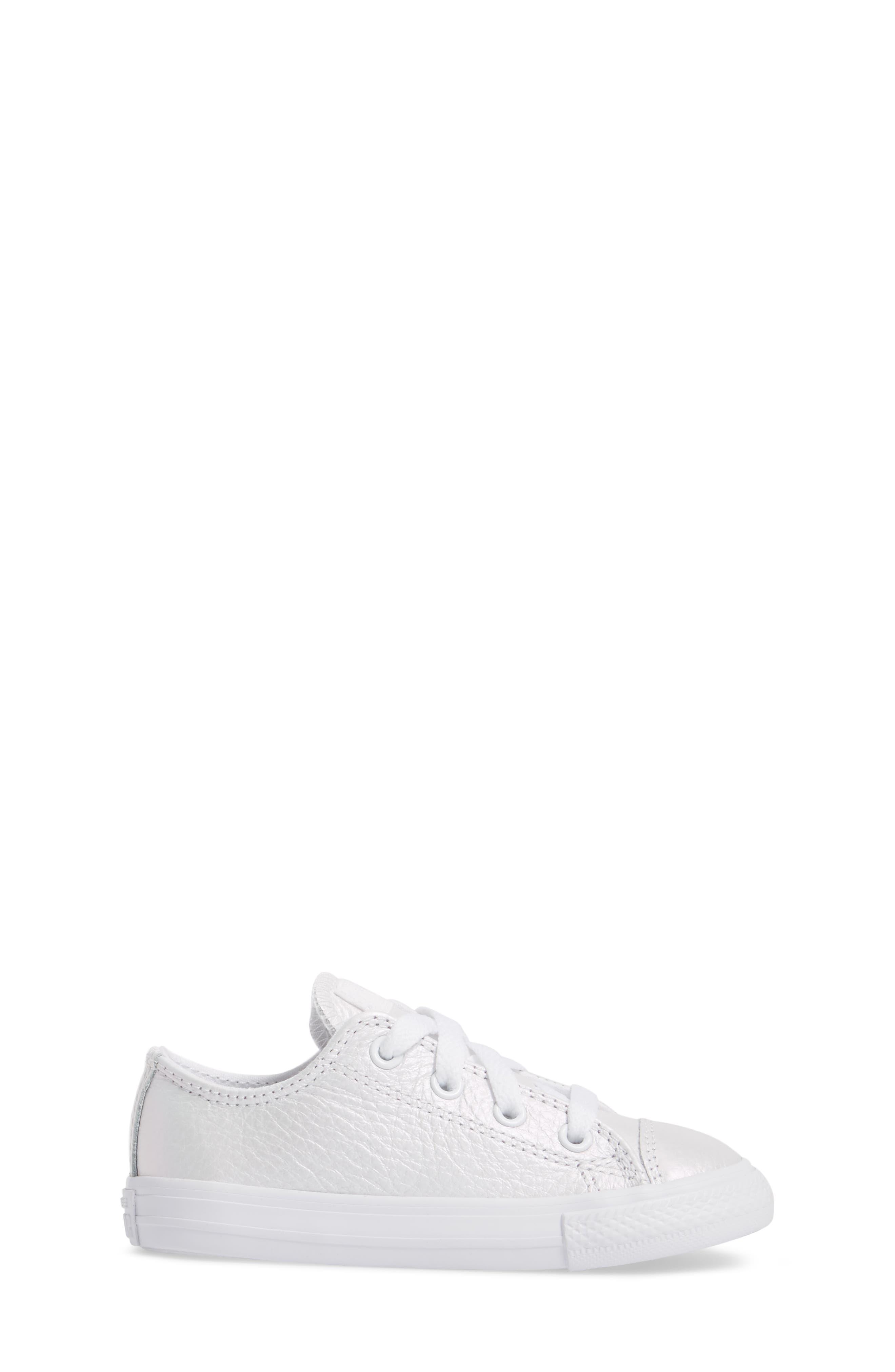 Alternate Image 3  - Converse Chuck Taylor® All Star® Iridescent Sneaker (Baby, Walker, Toddler & Little Kid)