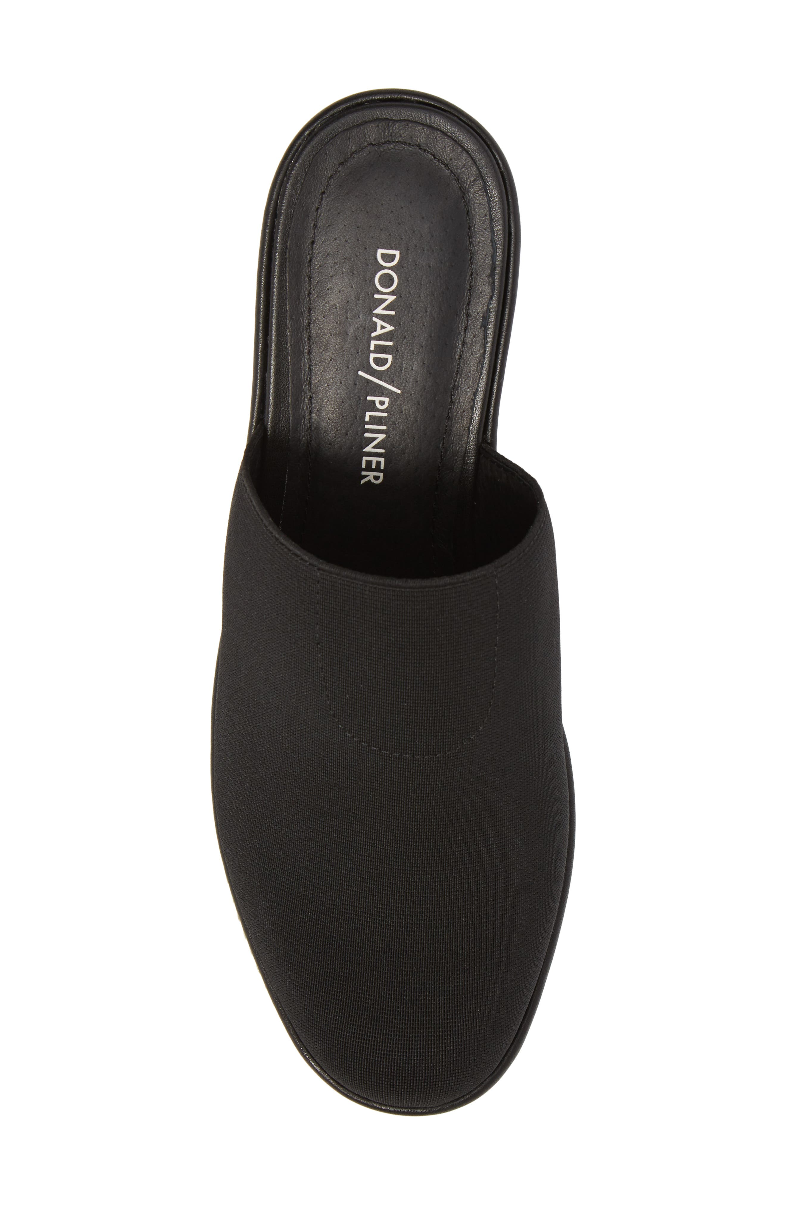 Corsica Clog,                             Alternate thumbnail 5, color,                             Black Fabric