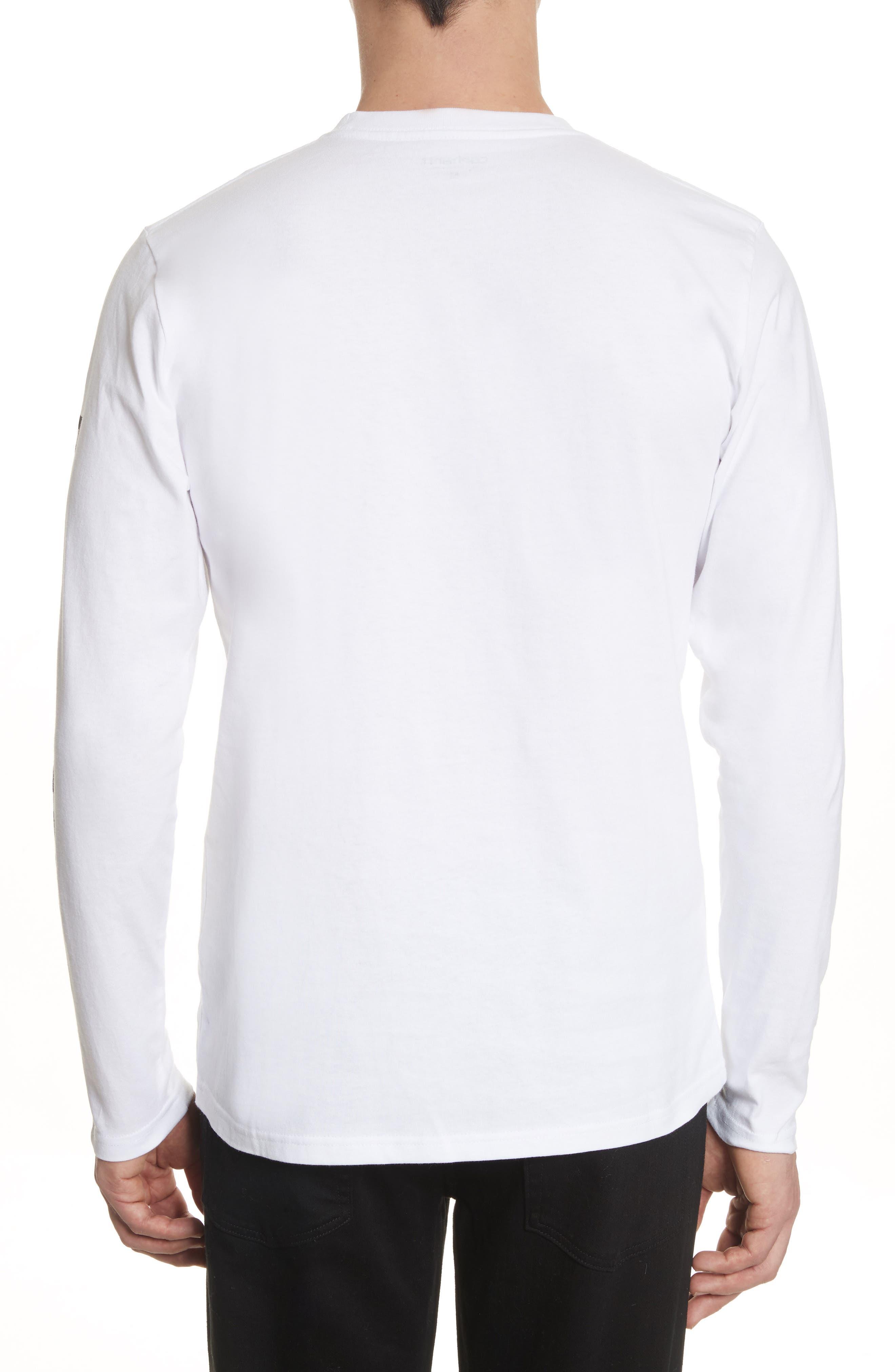 Alternate Image 2  - Carhartt Work in Progress Doin' Damage Graphic Long Sleeve T-Shirt