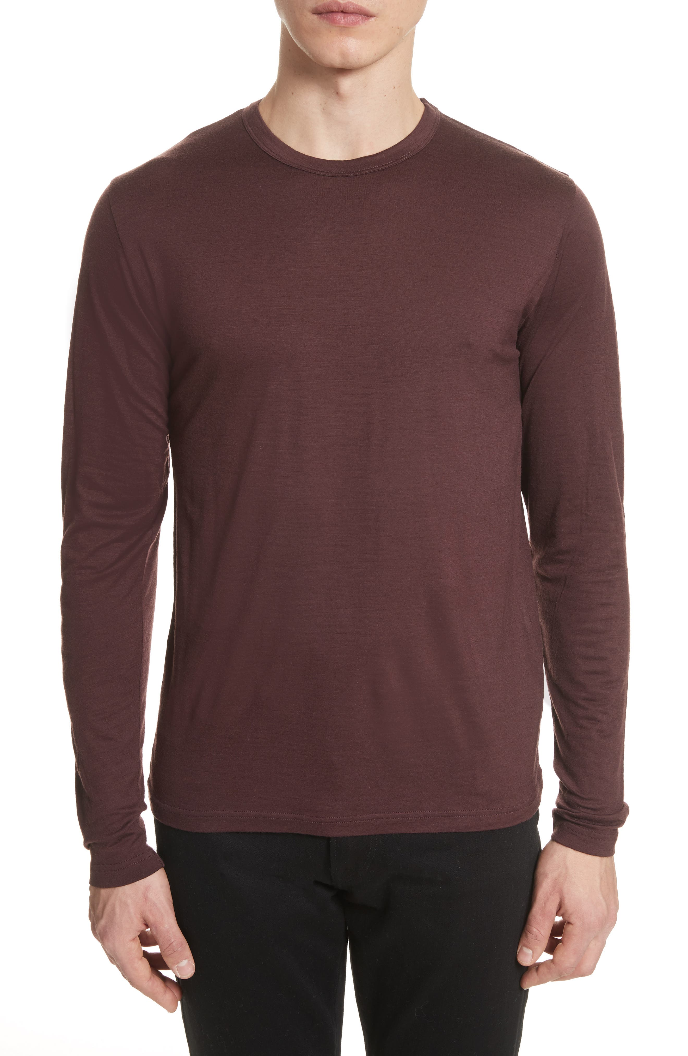 Main Image - Norse Projects Mercerized Wool Long Sleeve T-Shirt