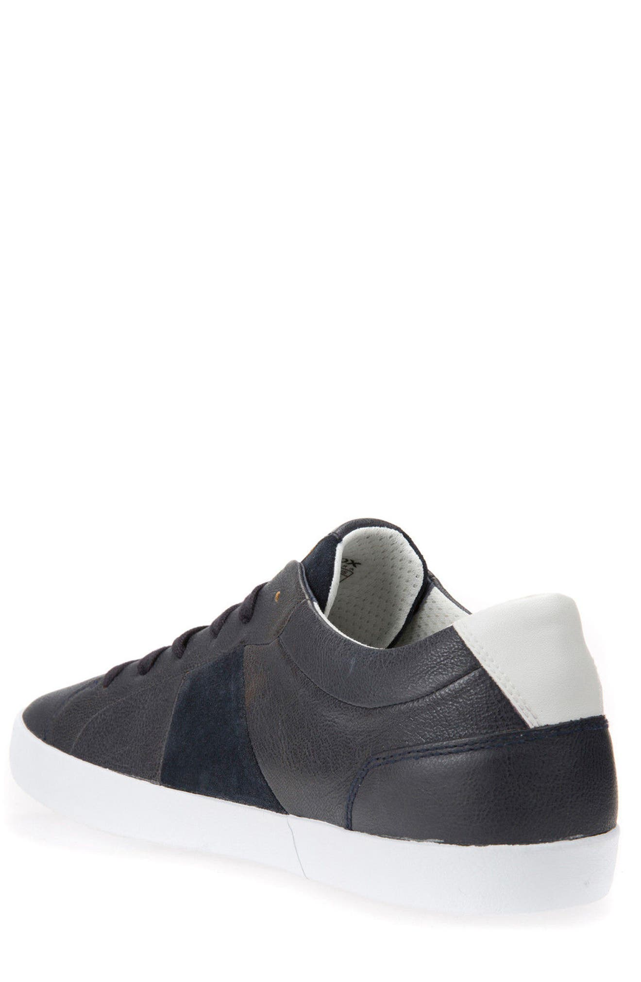 Smart 77 Sneaker,                             Alternate thumbnail 2, color,                             Navy Leather