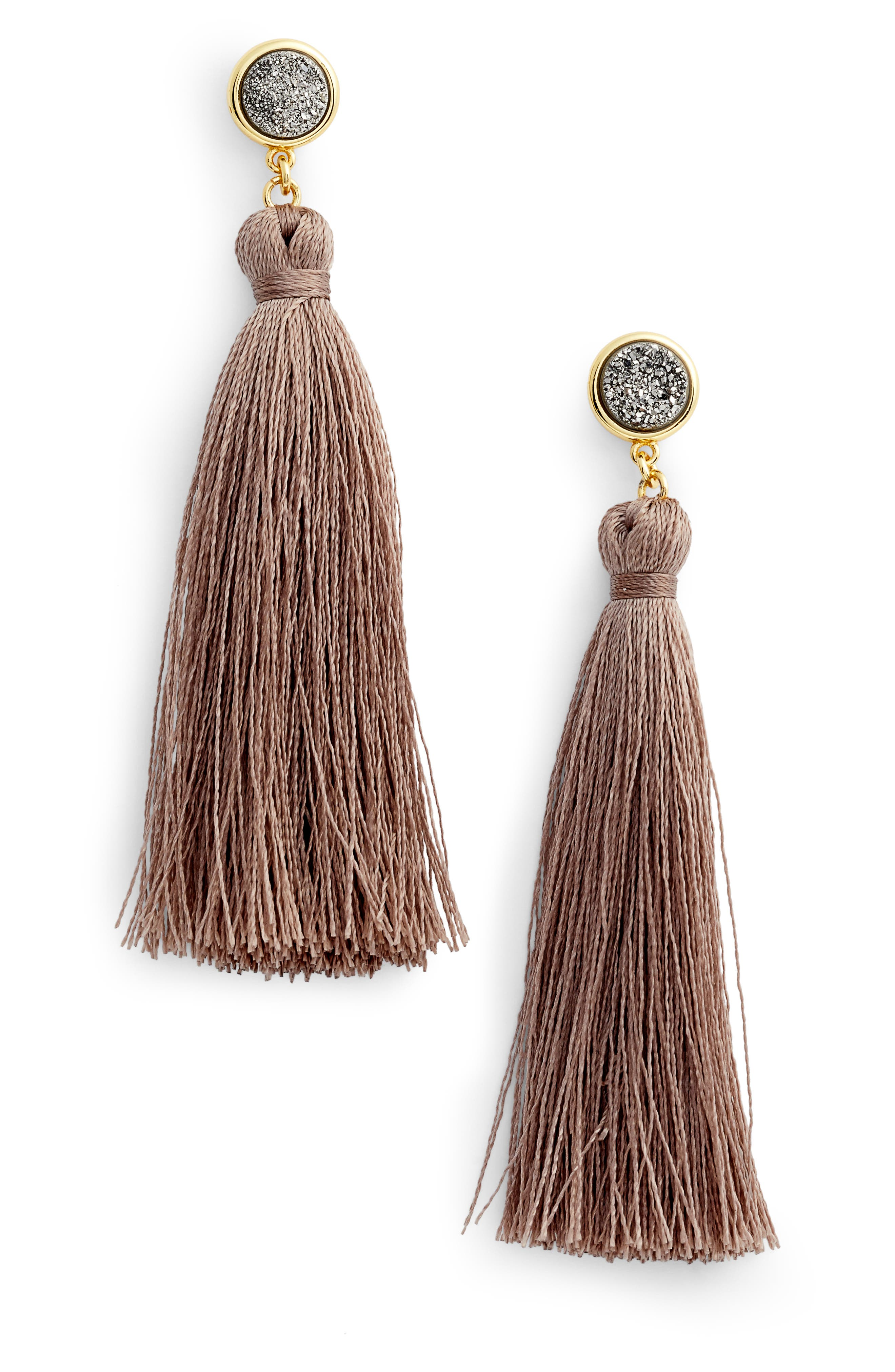 Main Image - gorjana Astoria Tassel Earrings
