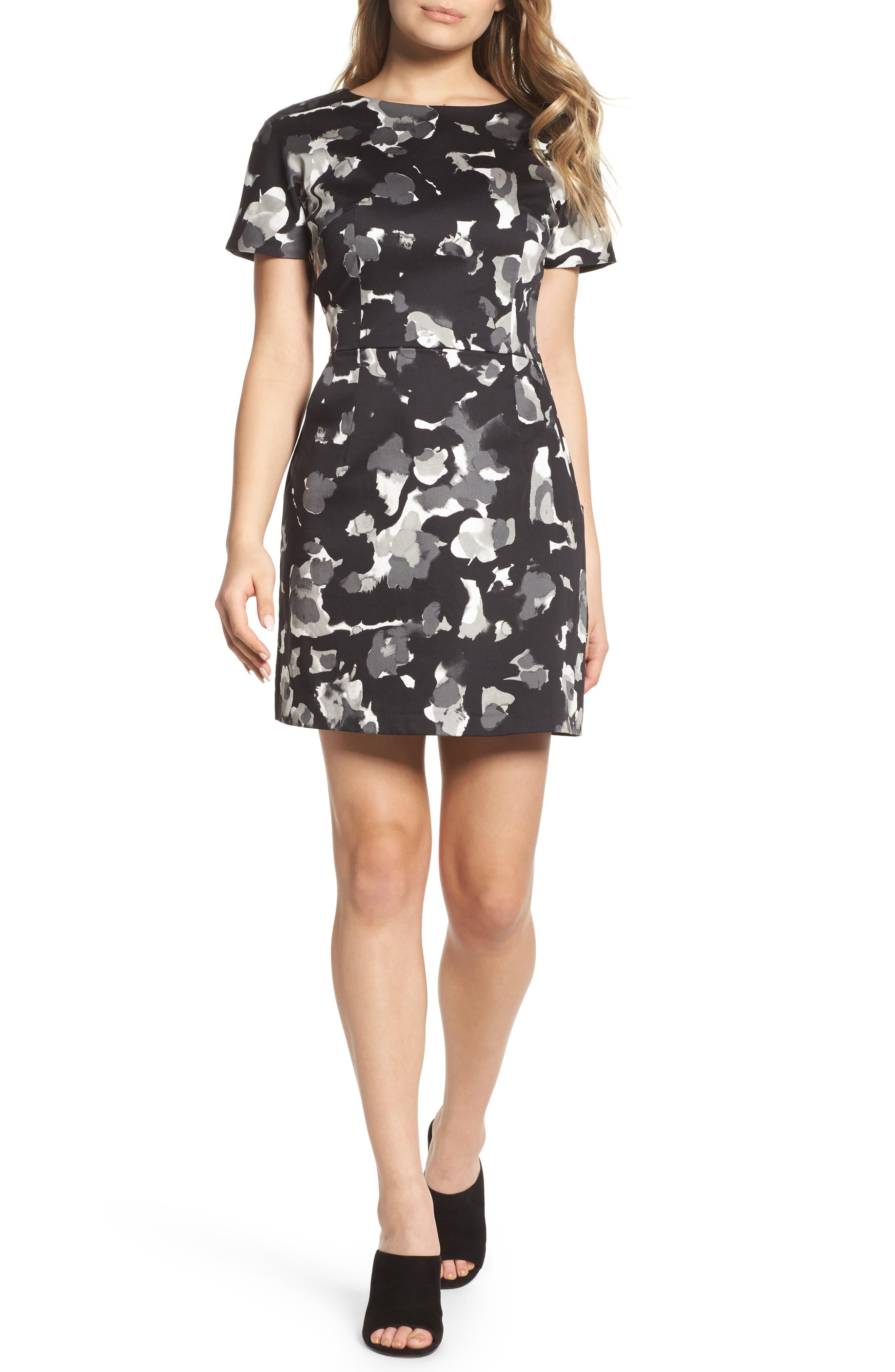 Balla Minidress,                         Main,                         color, Black Multi