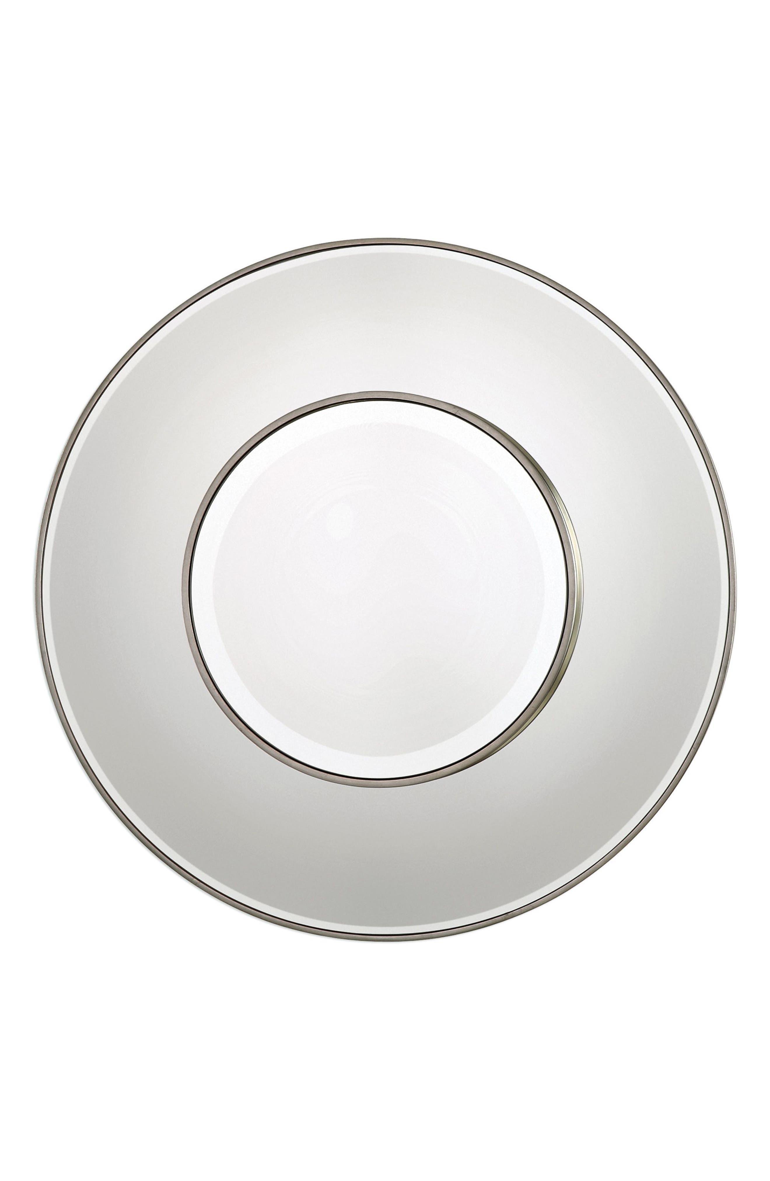 Odelia Wall Mirror,                         Main,                         color, Grey