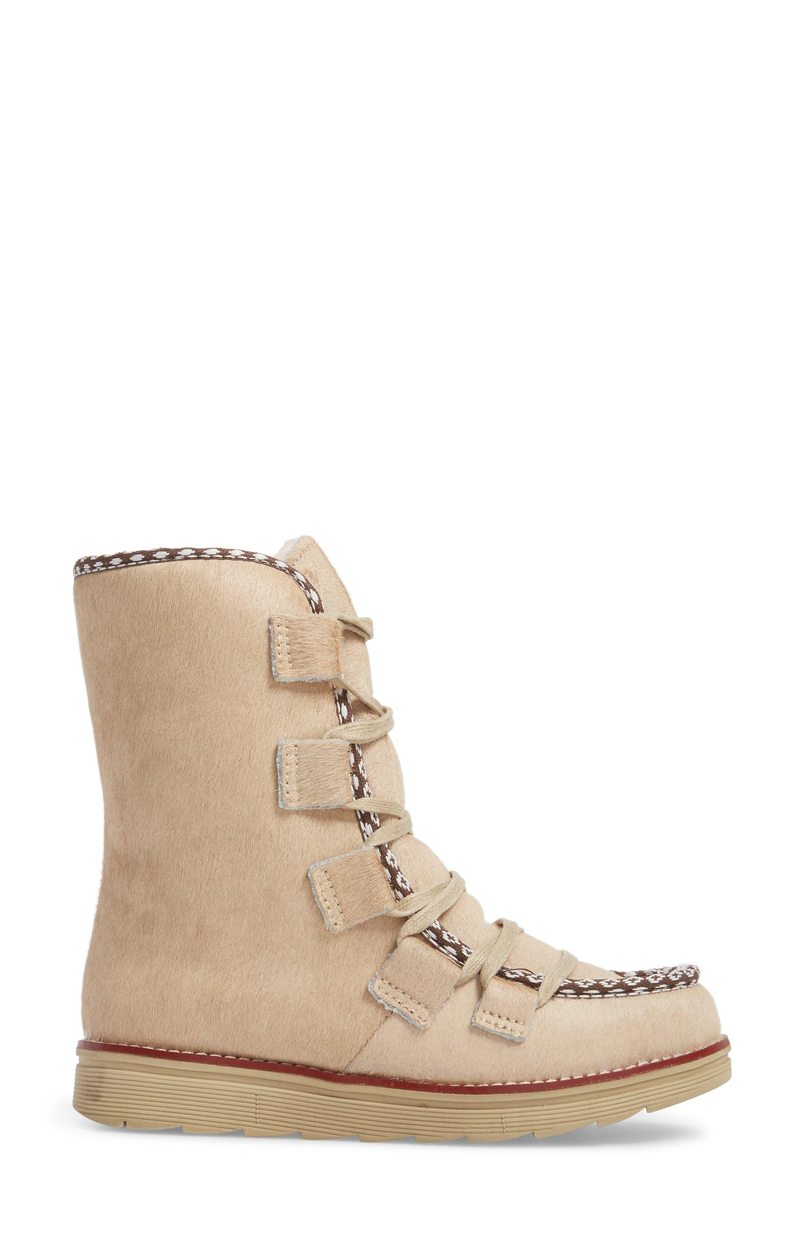 Alternate Image 3  - Royal Canadian Kitchener Waterproof Genuine Calf Hair Snow Boot (Women)