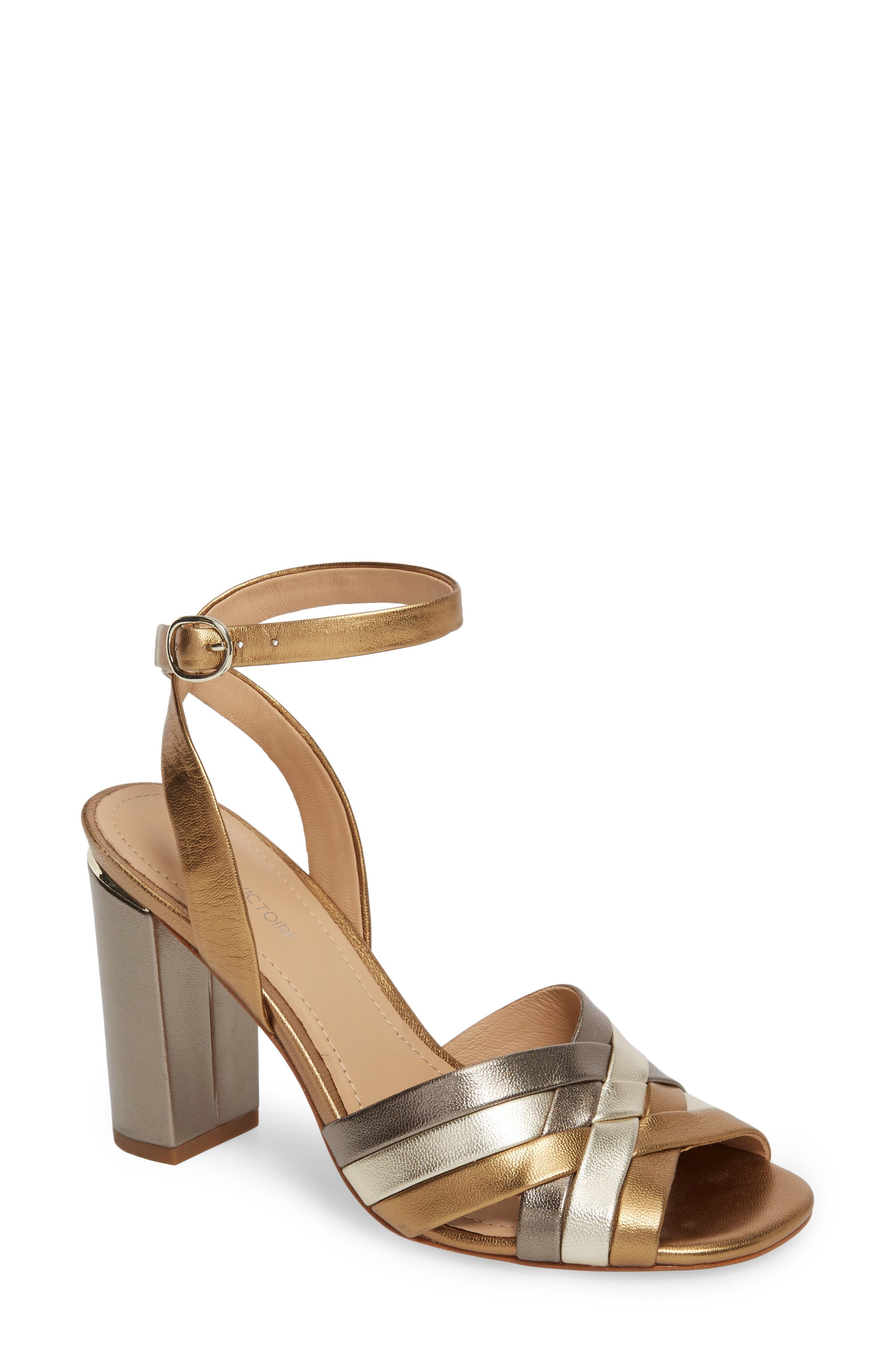 Pour La Victoire Hadley Leather Sandal 1AKfWR
