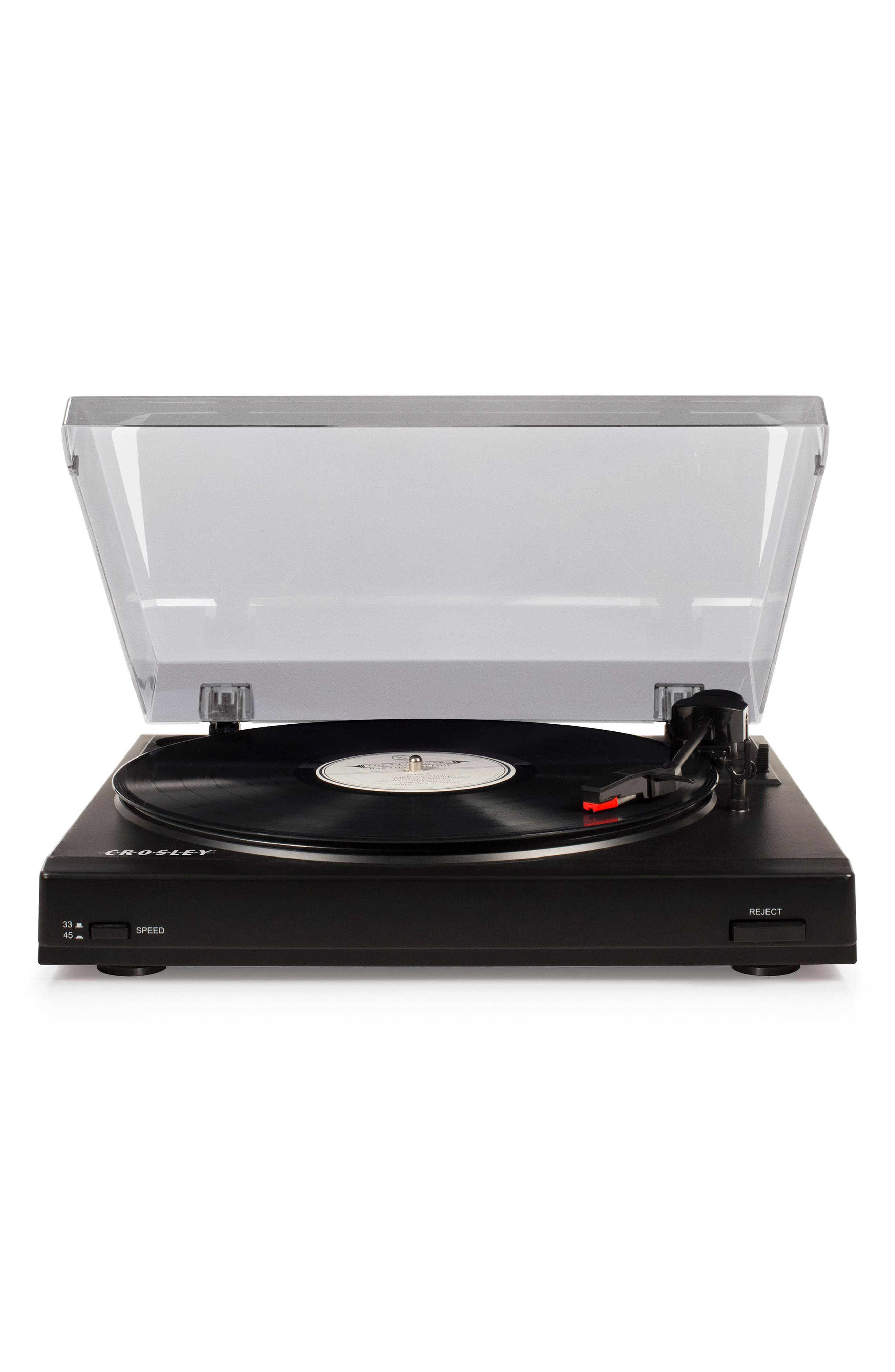 T200A Turntable,                         Main,                         color, Black