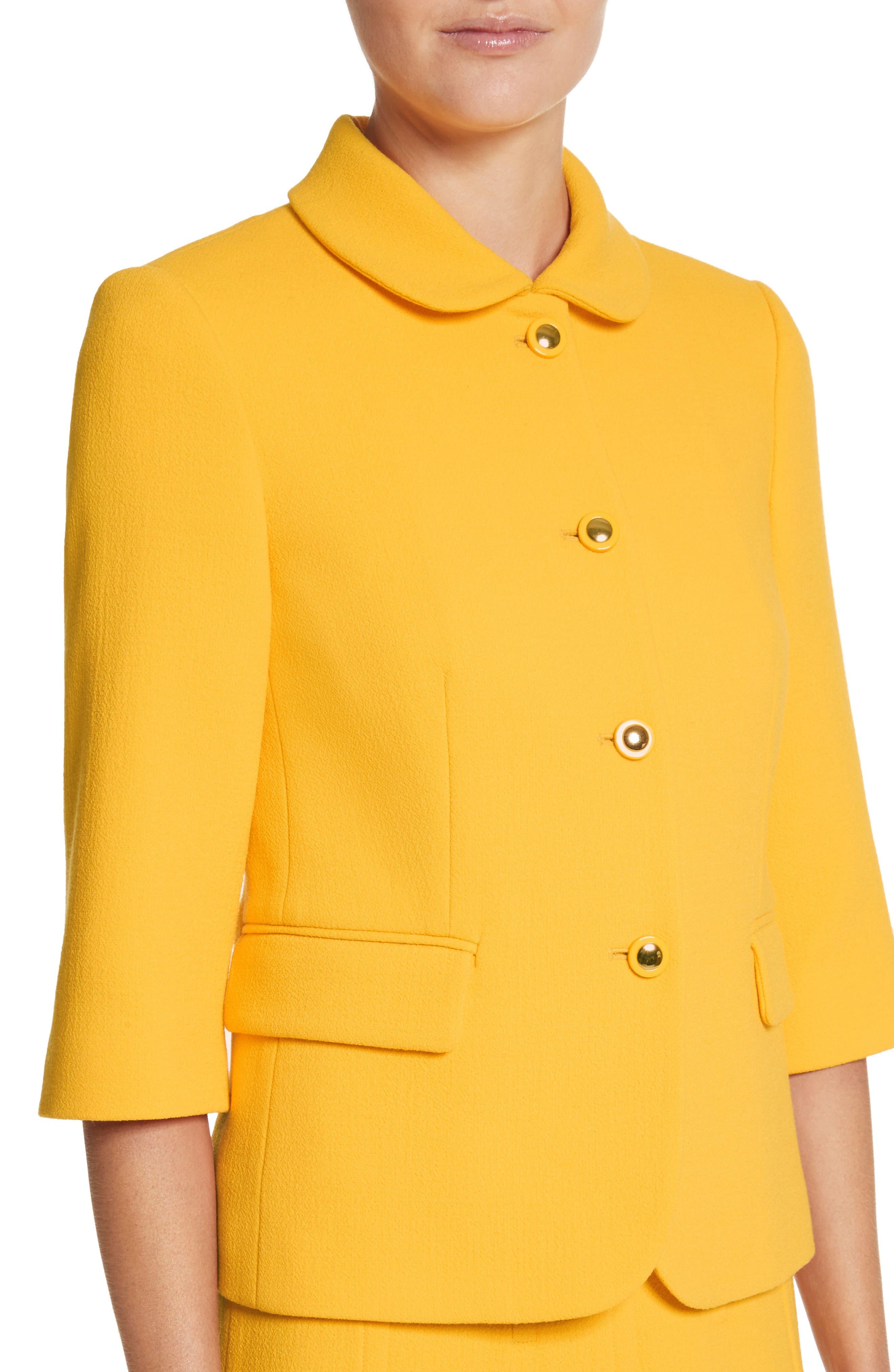 Alternate Image 4  - Michael Kors Stretch Bouclé Crepe Jacket