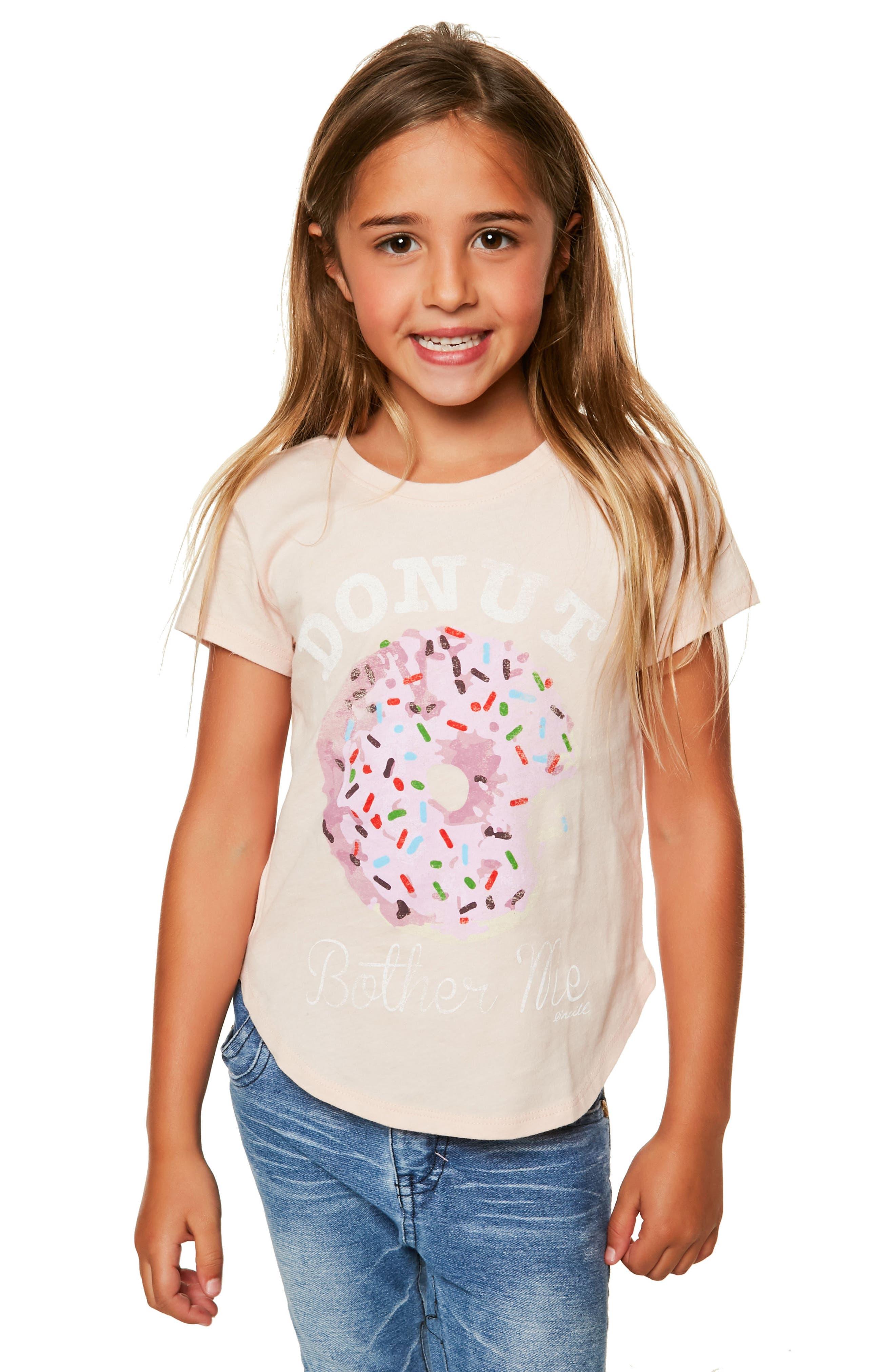 Alternate Image 3  - O'Neill Donut Bother Me Graphic Tee (Toddler Girls & Little Girls)