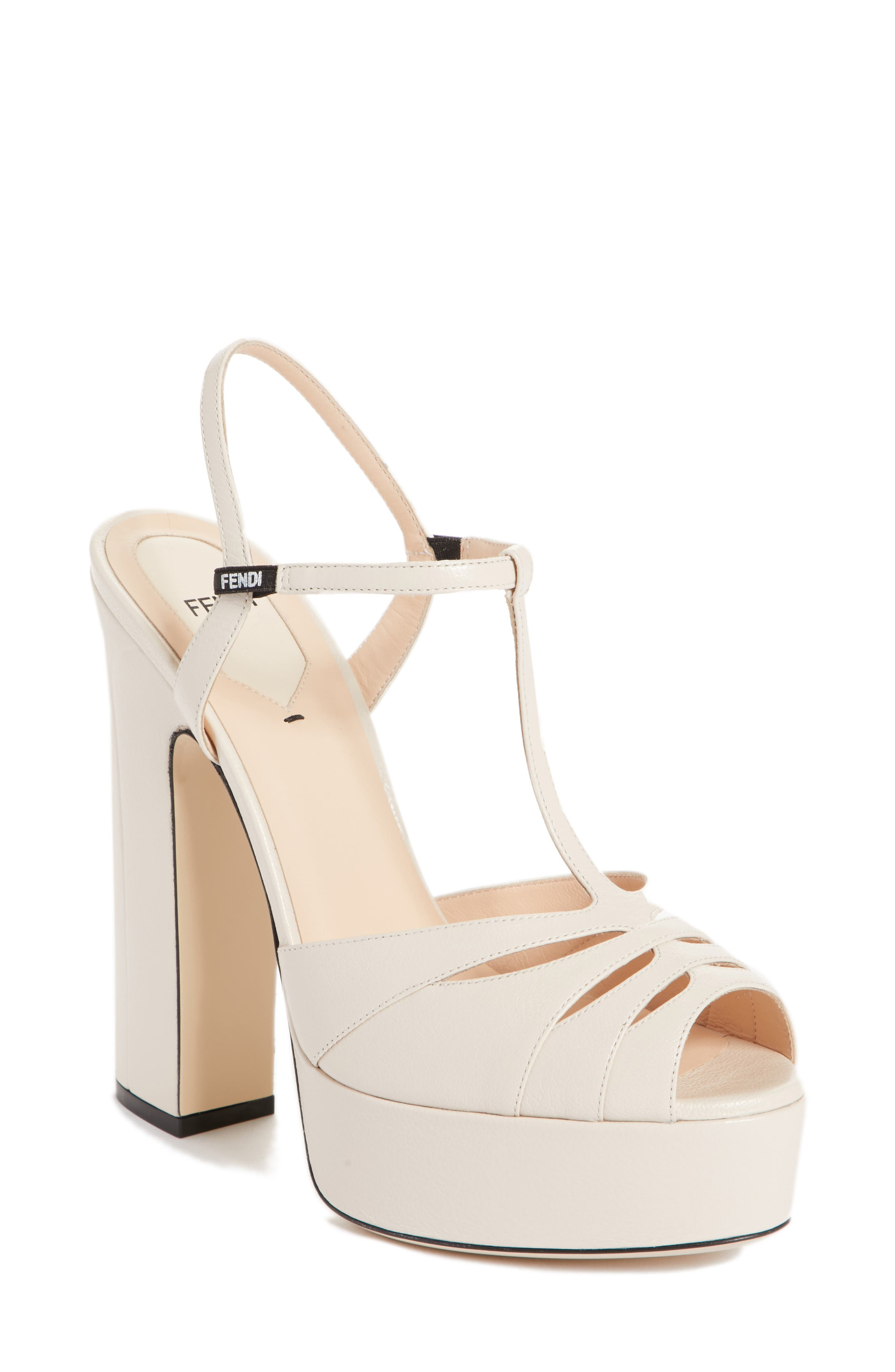 Duo Platform Sandal,                             Main thumbnail 1, color,                             Nude