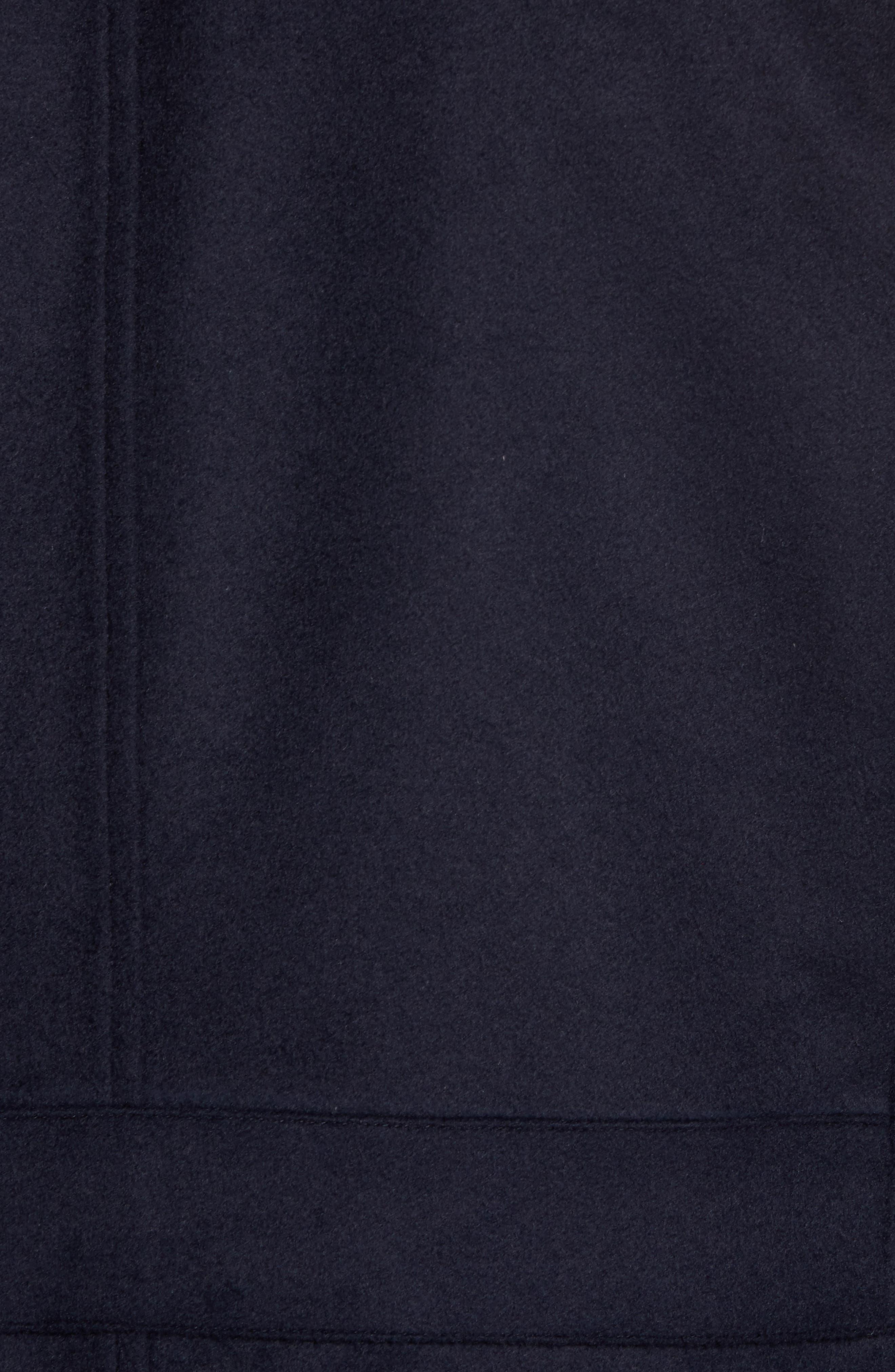 Wool Hybrid Blazer,                             Alternate thumbnail 5, color,                             Navy